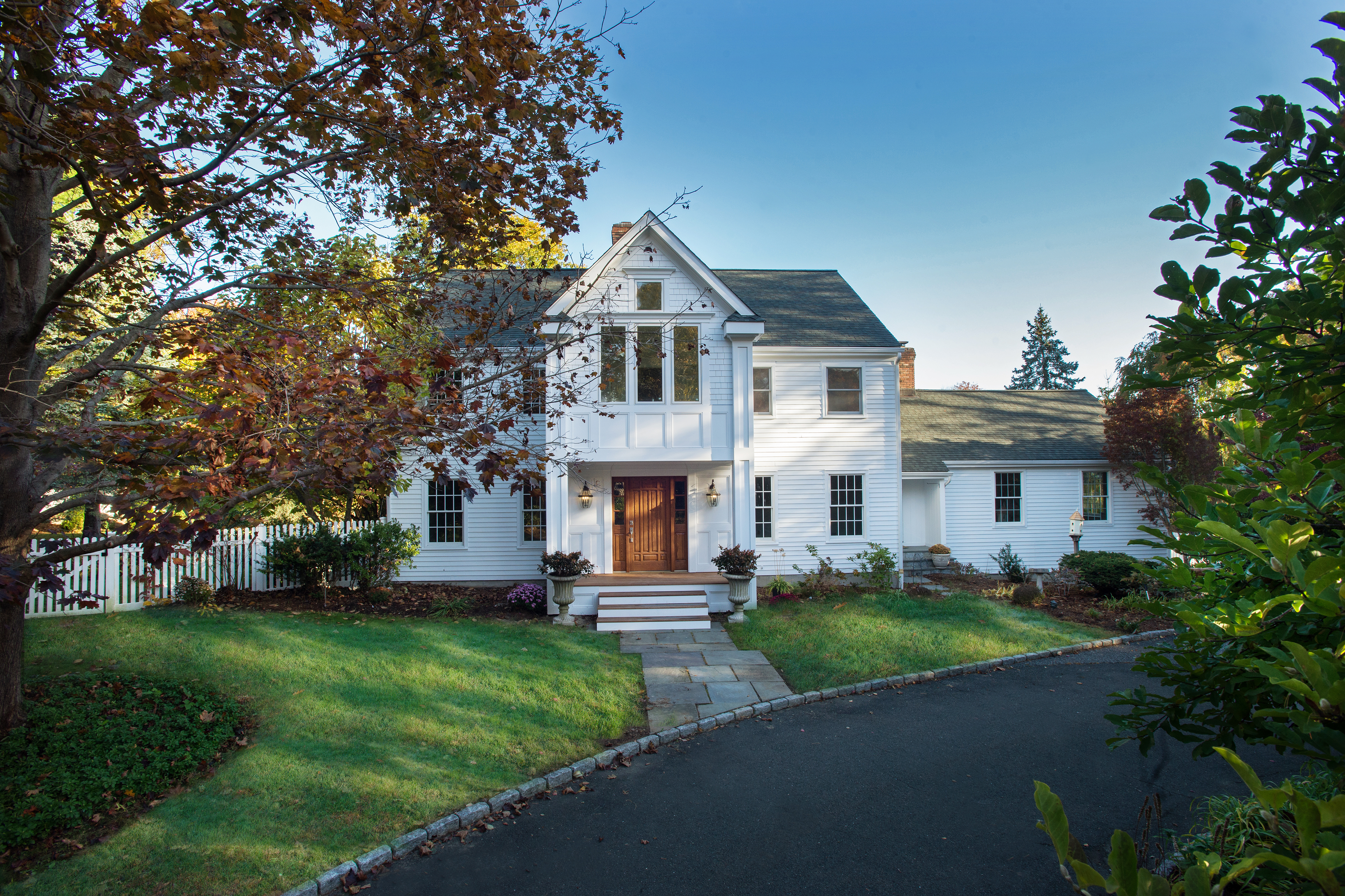 open-houses property at Gorgeous Renovated Colonial with Entertaining Kitchen and Relaxing Pool