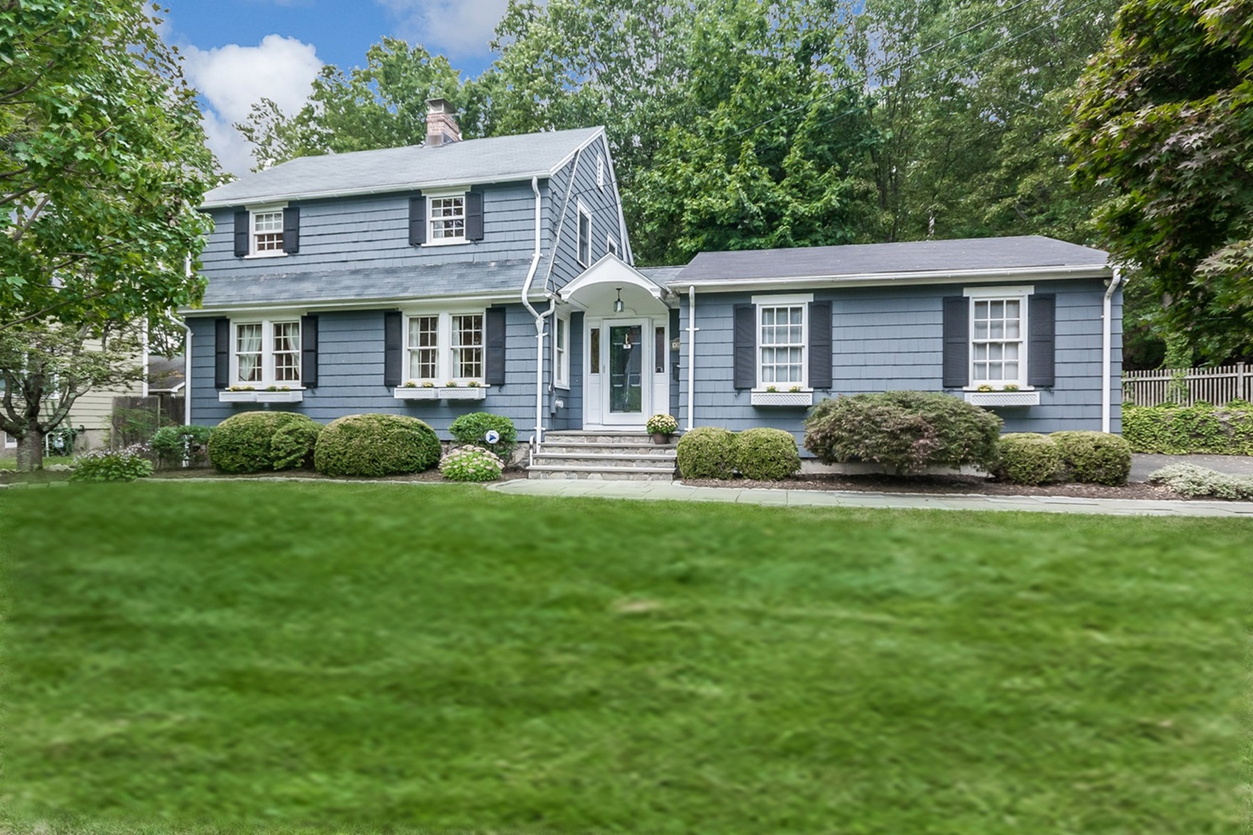 Property For Sale at Charming Stratfield Dutch Colonial on Privately Sited Corner Lot