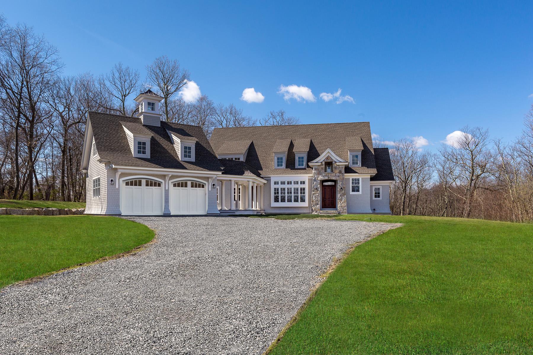 Casa Unifamiliar por un Venta en New Construction 11 Hillcrest Lane Weston, Connecticut, 06883 Estados Unidos