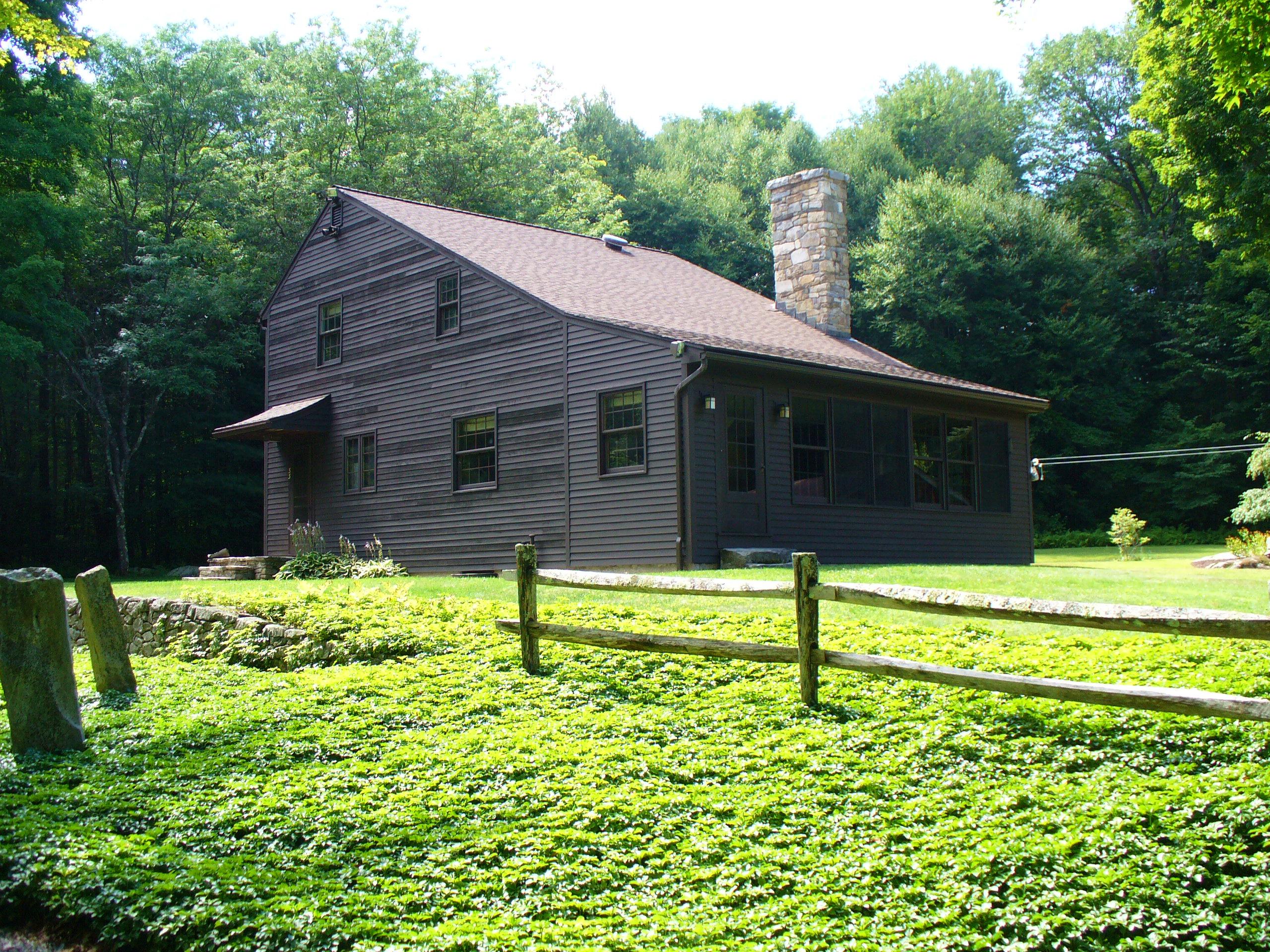Частный односемейный дом для того Продажа на Ultimate Private Country Home With Gardens 55 Jakes Rd Goshen, Коннектикут 06756 Соединенные Штаты