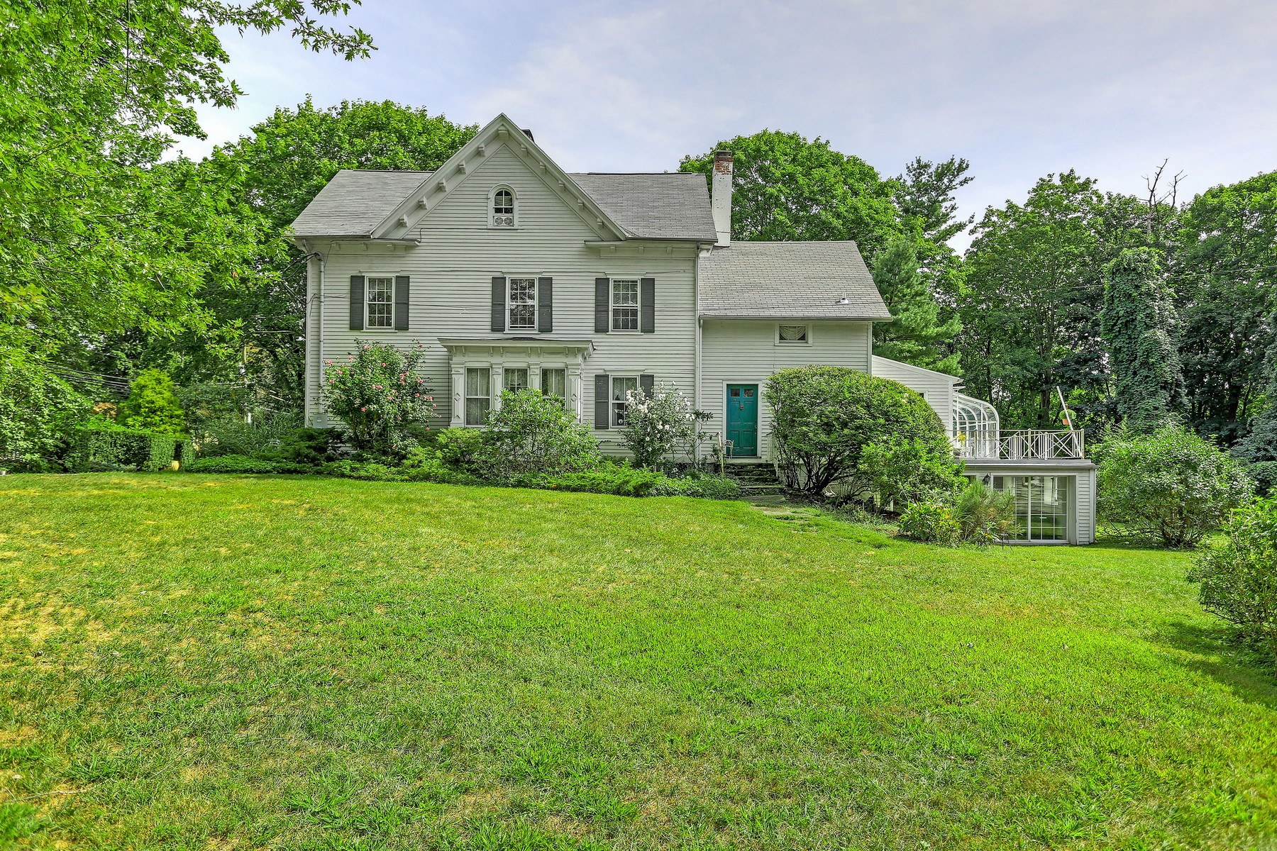 Single Family Home for Sale at Wonderful Victorian Farmhouse with Cottage and Boathouse 244-244a Greens Farms Road Westport, Connecticut, 06880 United States
