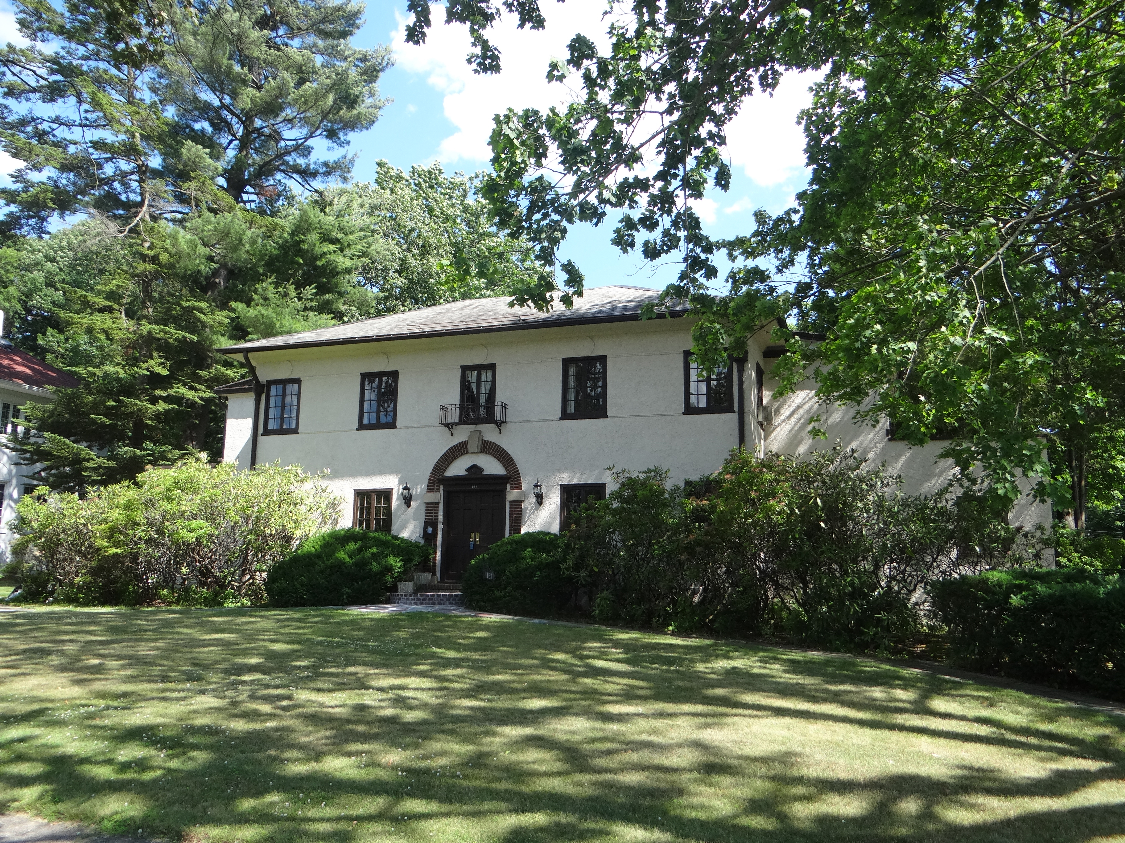 Single Family Home for Sale at Mediterranean Charm With Pool 161 Forest Avenue New Rochelle, New York 10804 United States