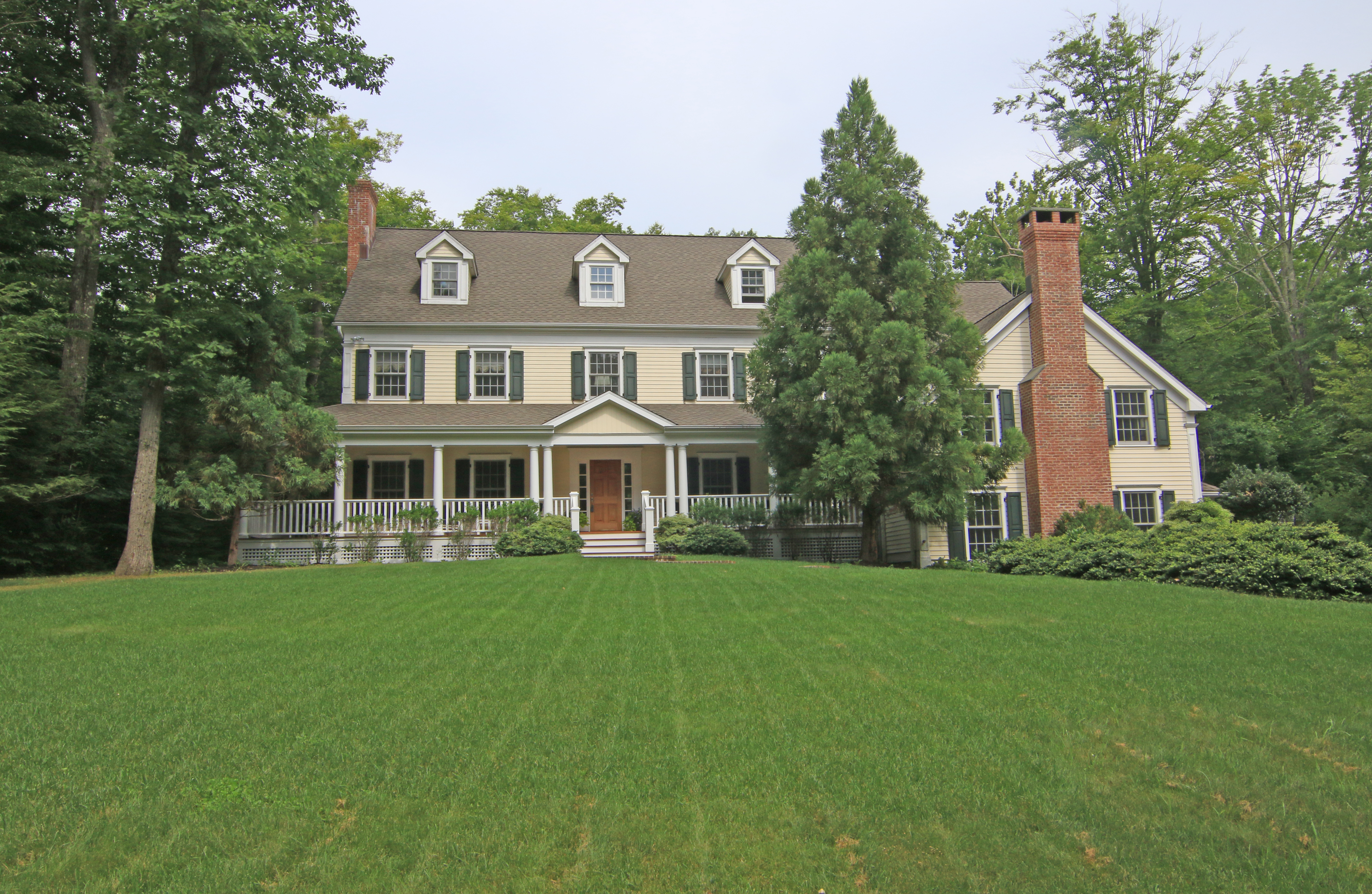 Single Family Home for Sale at Impeccable Home Bathed in Sunlight 138 Ridgefield Road Wilton, Connecticut 06897 United States