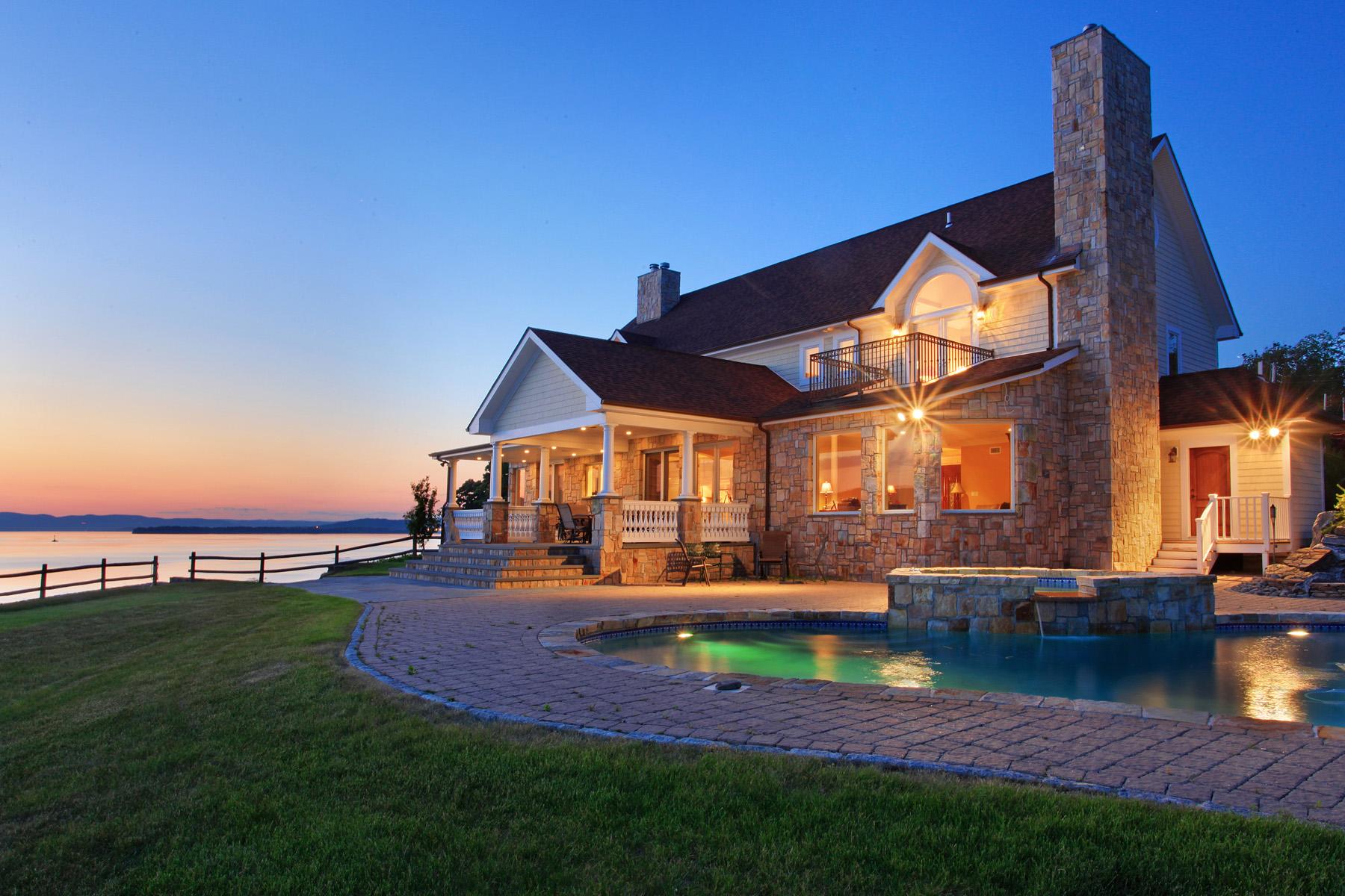 一戸建て のために 売買 アット Panoramic views of the Hudson River 28 South Country Club Lane Briarcliff Manor, ニューヨーク 10510 アメリカ合衆国
