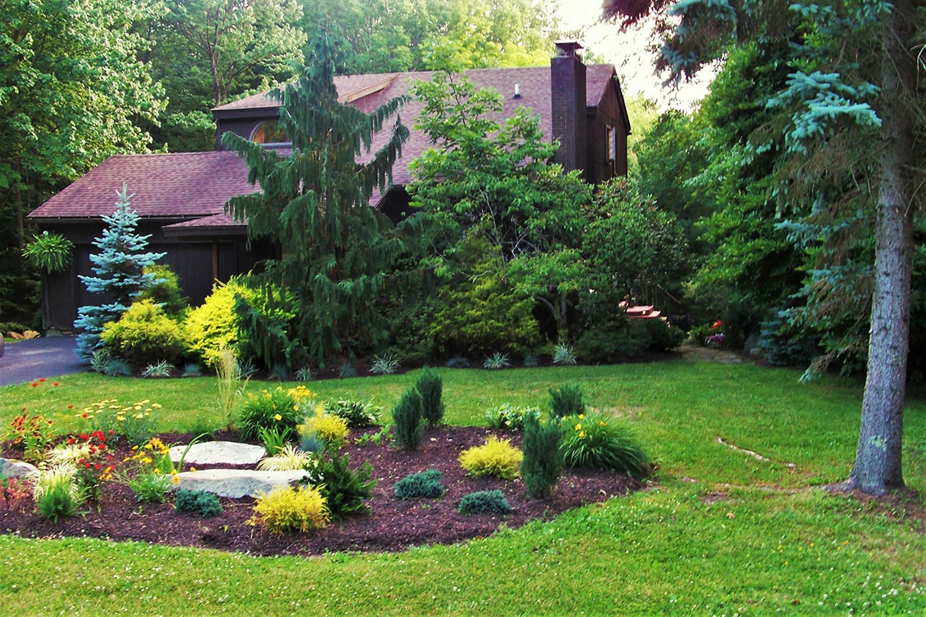 Casa Unifamiliar por un Venta en Woodridge Lake Custom Contemporary 52 Wellsford Dr Goshen, Connecticut, 06756 Estados Unidos