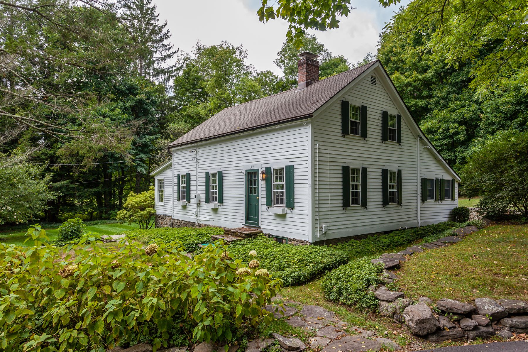 Single Family Home for Sale at Historic 1700's Cape 23 Couch Washington, Connecticut, 06777 United States