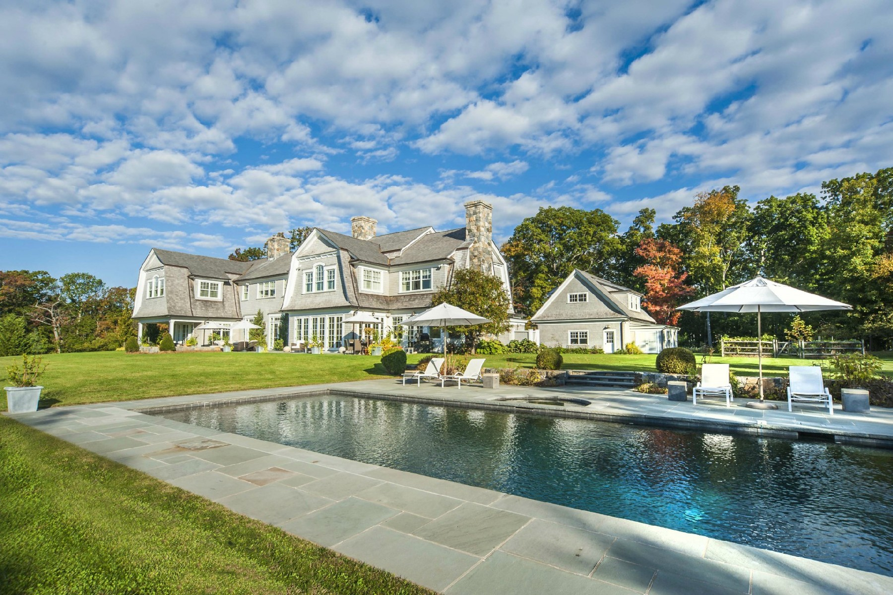 Single Family Home for Sale at Magnificent Estate on 7.1 Acre Island 20 Juniper Road Darien, Connecticut, 06820 United States