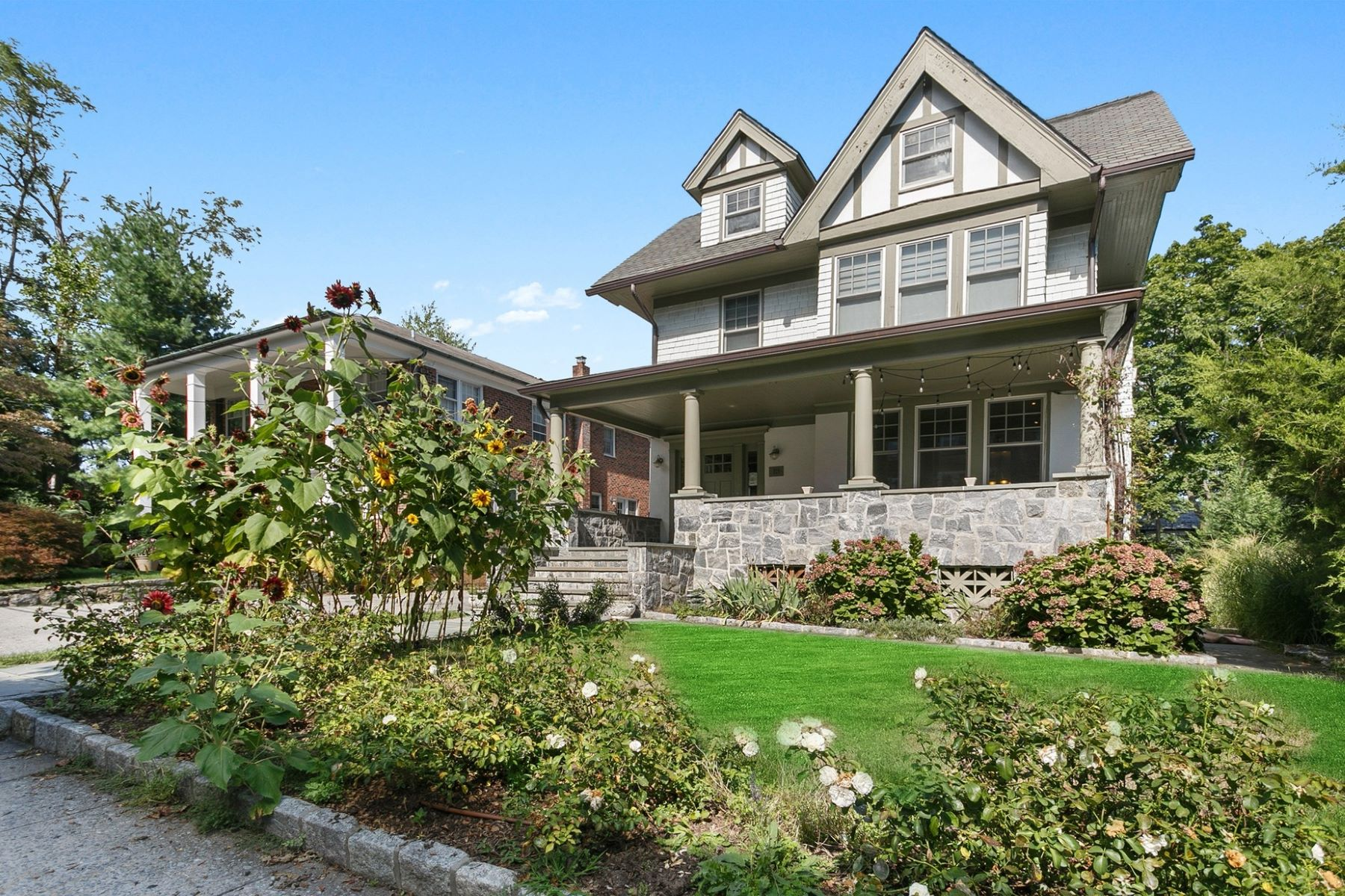 Single Family Homes for Active at Remarkably Restored Arts and Crafts Home 18 Kraft Avenue Bronxville, New York 10708 United States