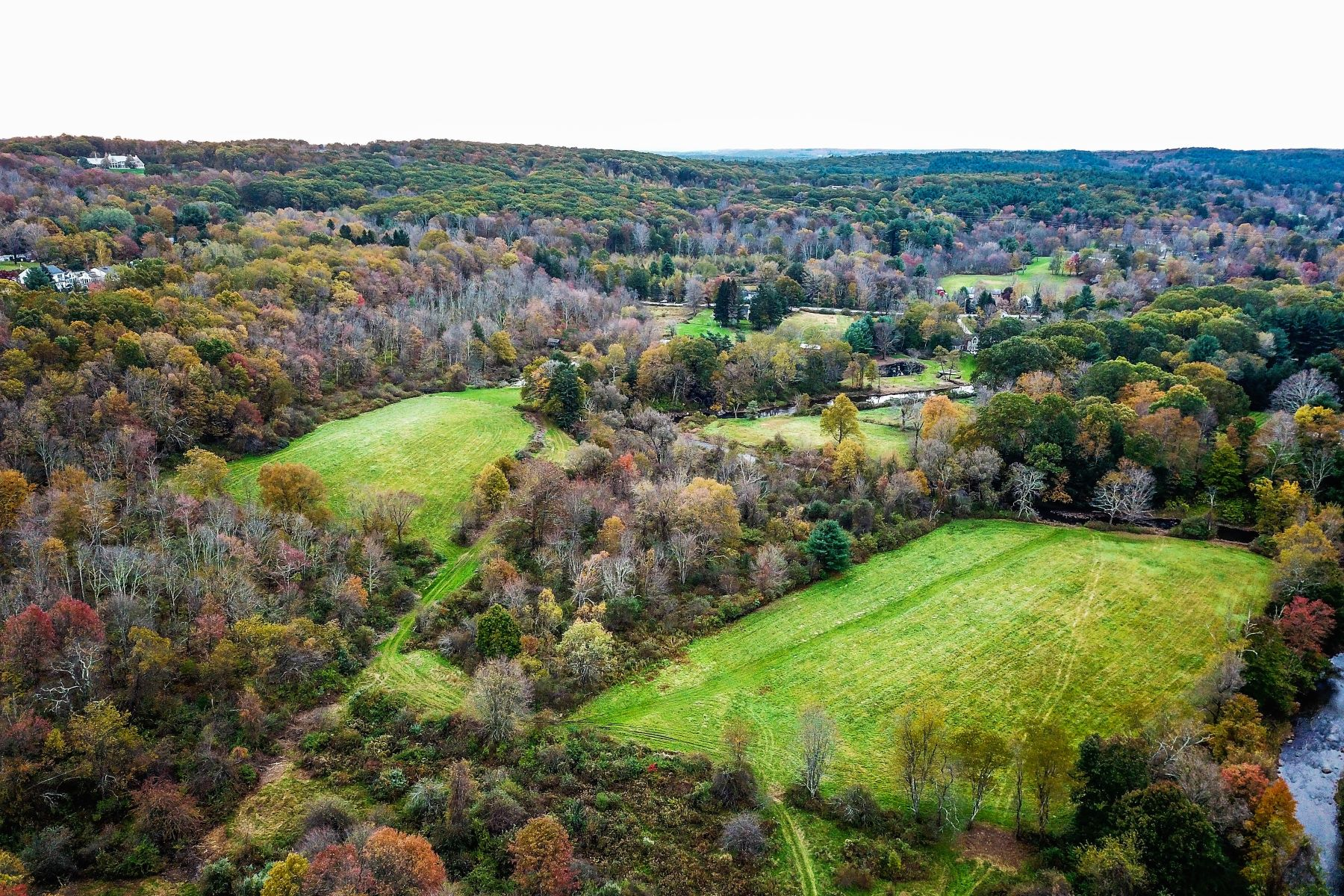 Land for Sale at River Front, Pond, Fields, Cape on 28 Acres 39A Camp Dutton Road Litchfield, Connecticut 06759 United States