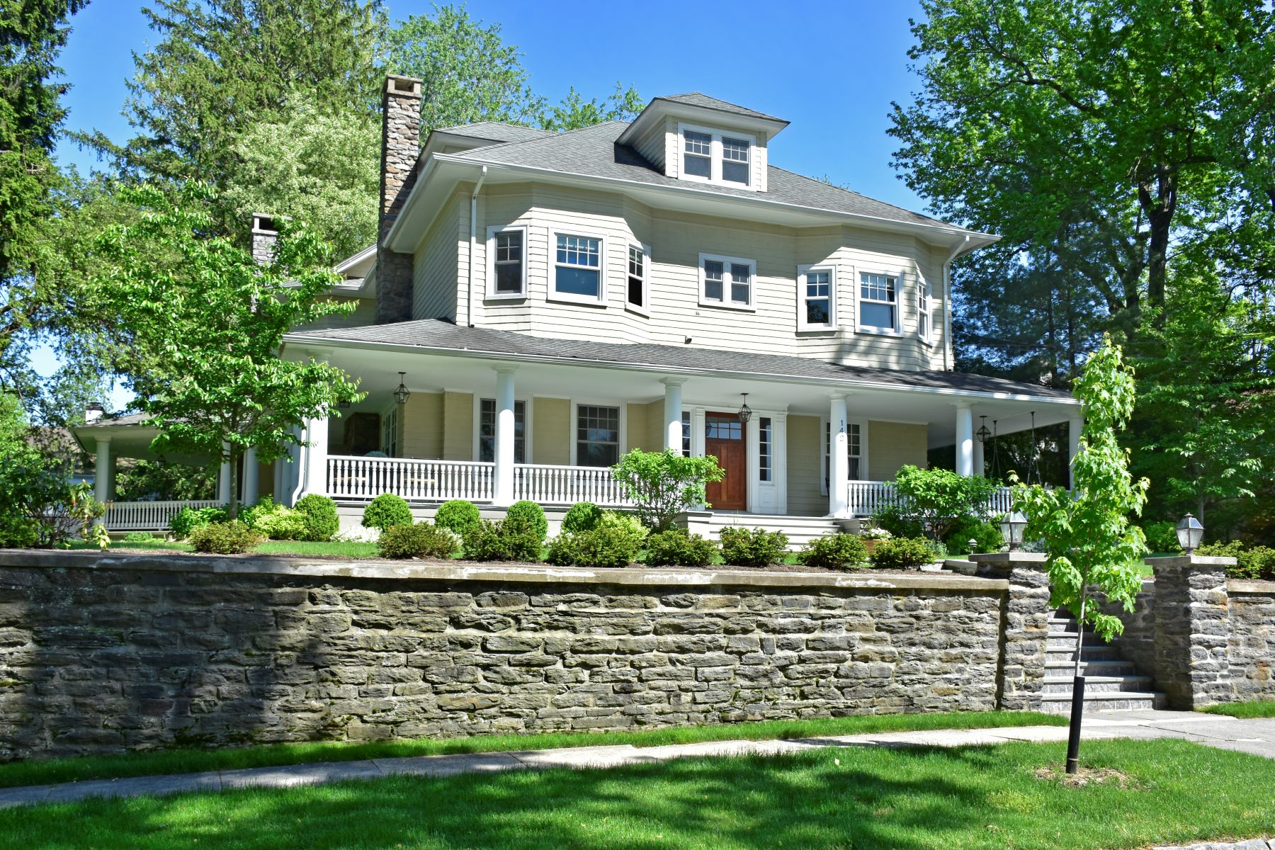 Single Family Home for Sale at Pelham Heights Perfection 142 Monterey Avenue Pelham, New York 10803 United States
