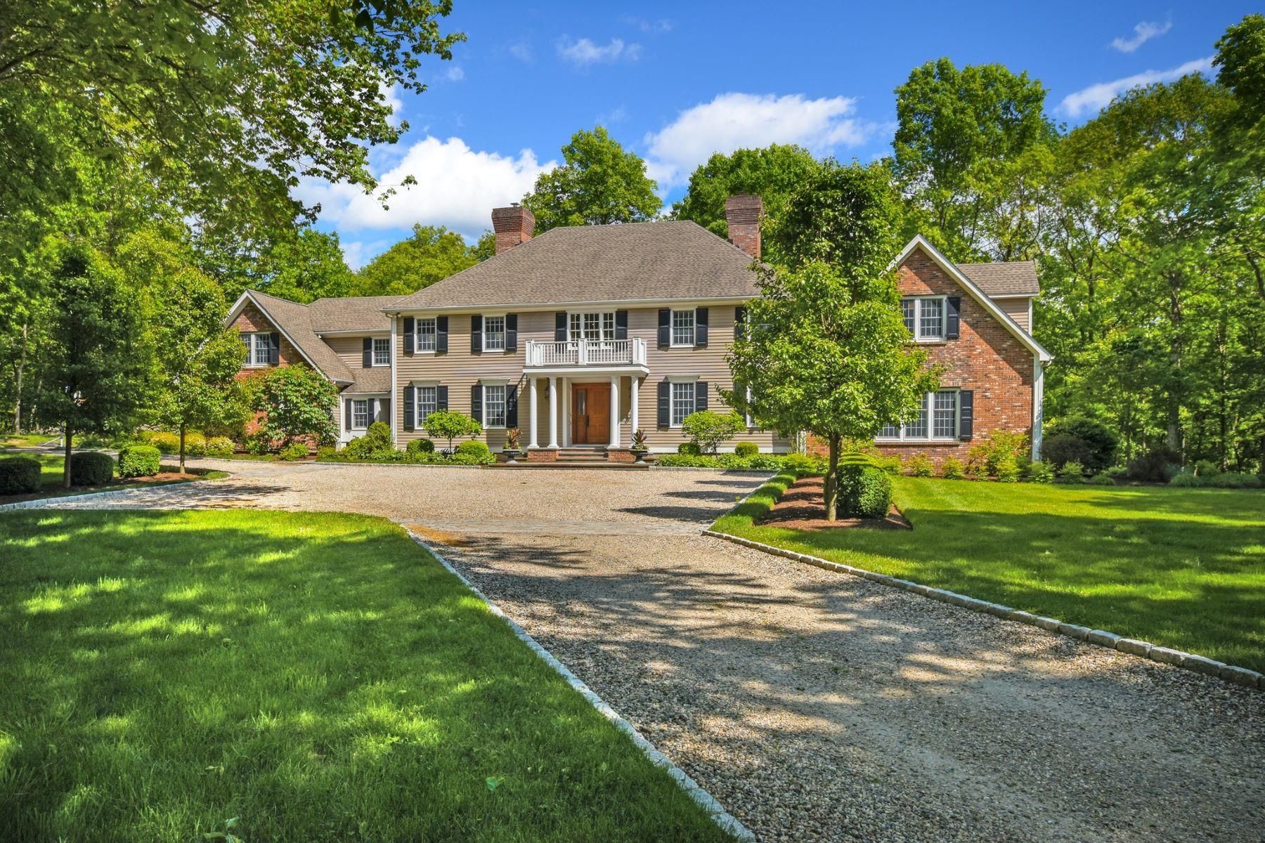 Single Family Homes للـ Sale في Lifestyle & Location 15 Thankful Bradley Road, Redding, Connecticut 06896 United States