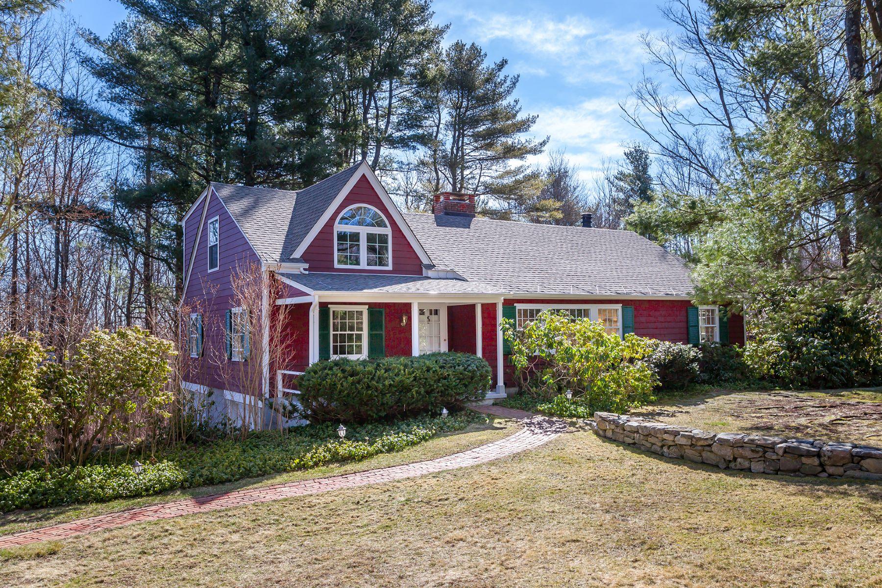 Maison unifamiliale pour l à louer à Furnished Cape Cod 206 Melius Road, Warren, Connecticut, 06754 États-Unis