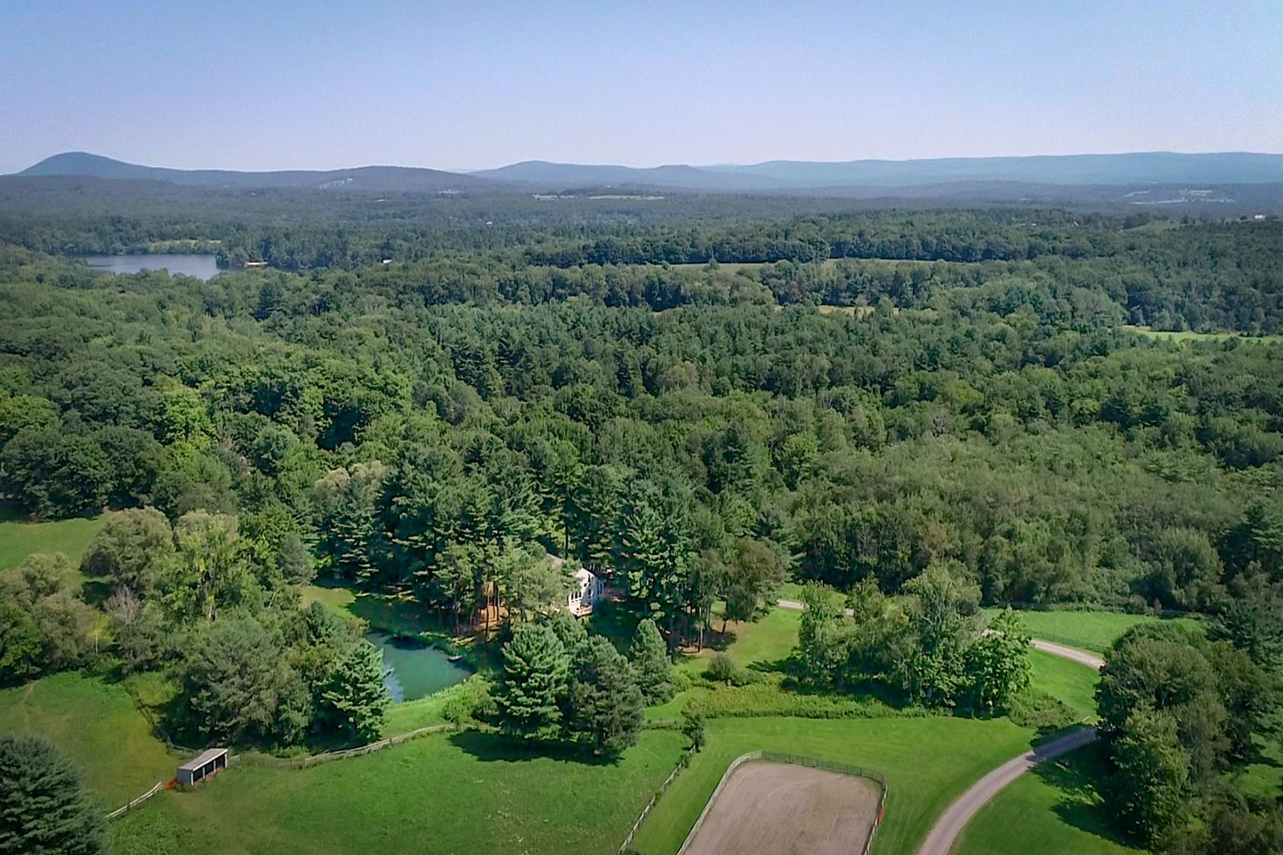 Single Family Home for Active at Berkshire Estate- The Paddocks - Views, Horses, Pastures, Pond Egremont, Massachusetts 01230 United States