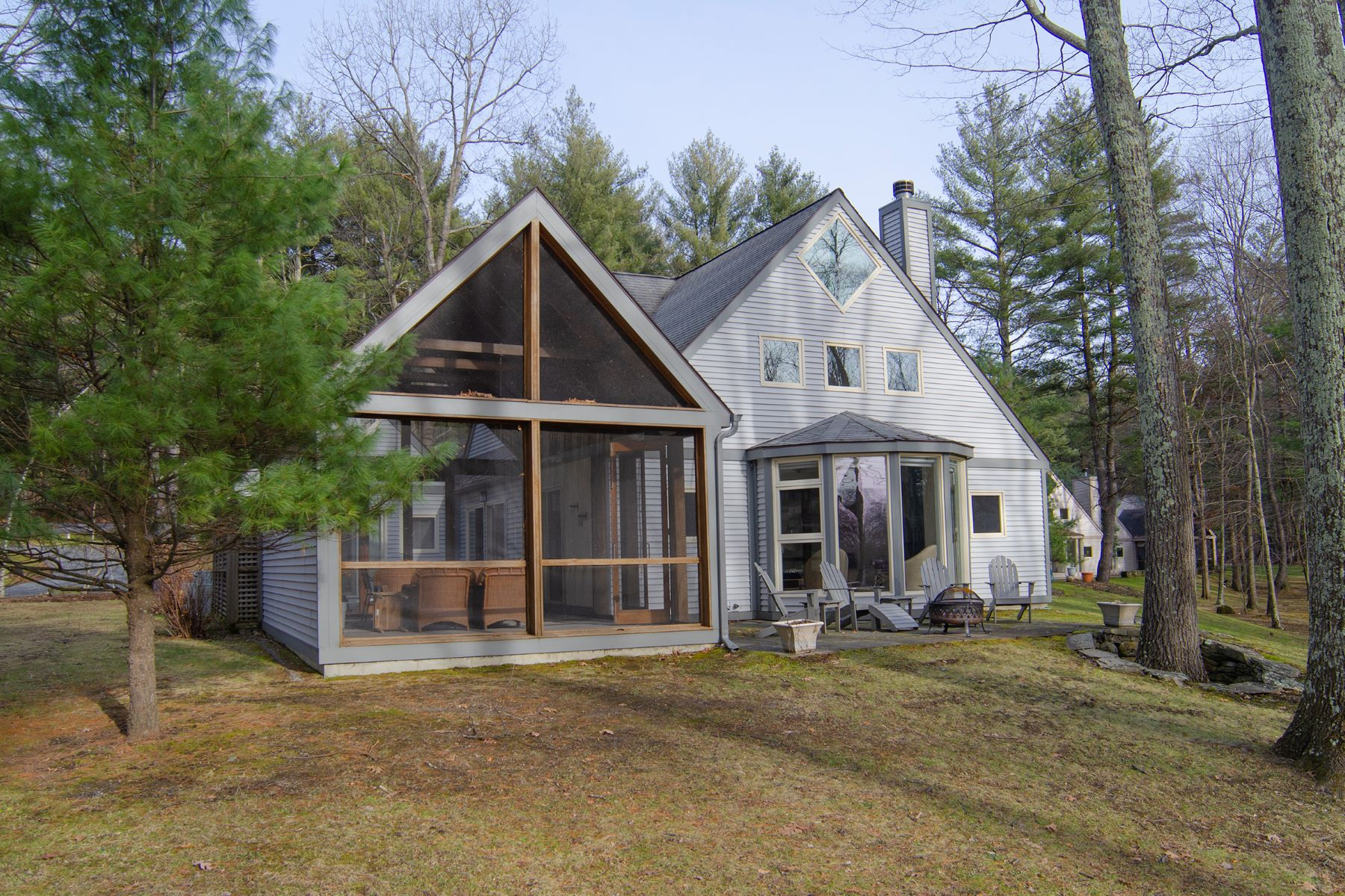 Single Family Home for Sale at Idyllic Waterfront at Long Lake 134 Arcadia Drive Ancram, New York 12502 United States