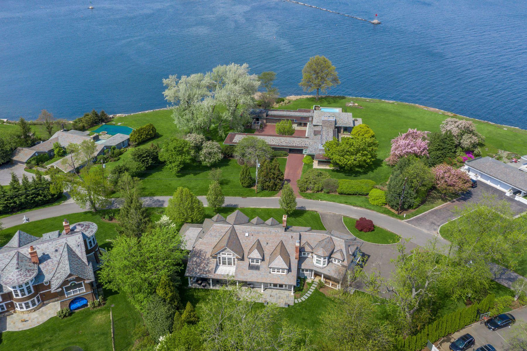 Single Family Homes för Försäljning vid 55 Island Drive Rye, New York 10580 Förenta staterna