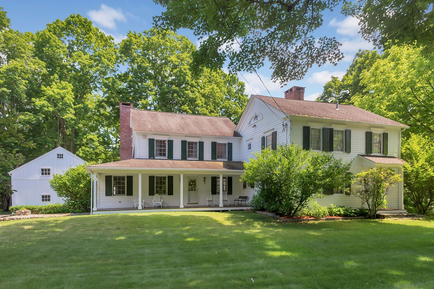 Single Family Home for Sale at Harmonious Blend of Old and New 87 Partrick Road, Westport, Connecticut, 06880 United States