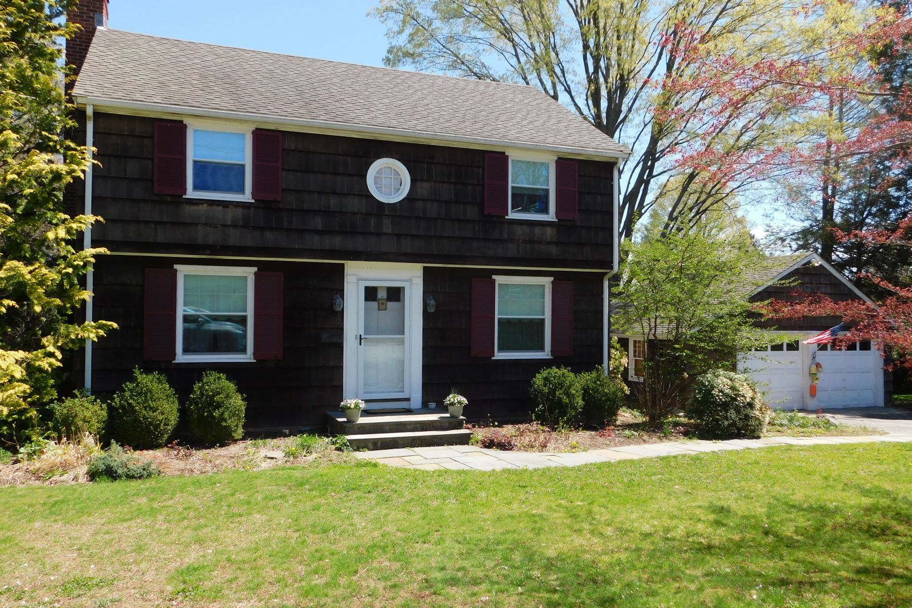 single family homes for Sale at Classic Colonial 22 Pleasant Street, Trumbull, Connecticut 06611 United States