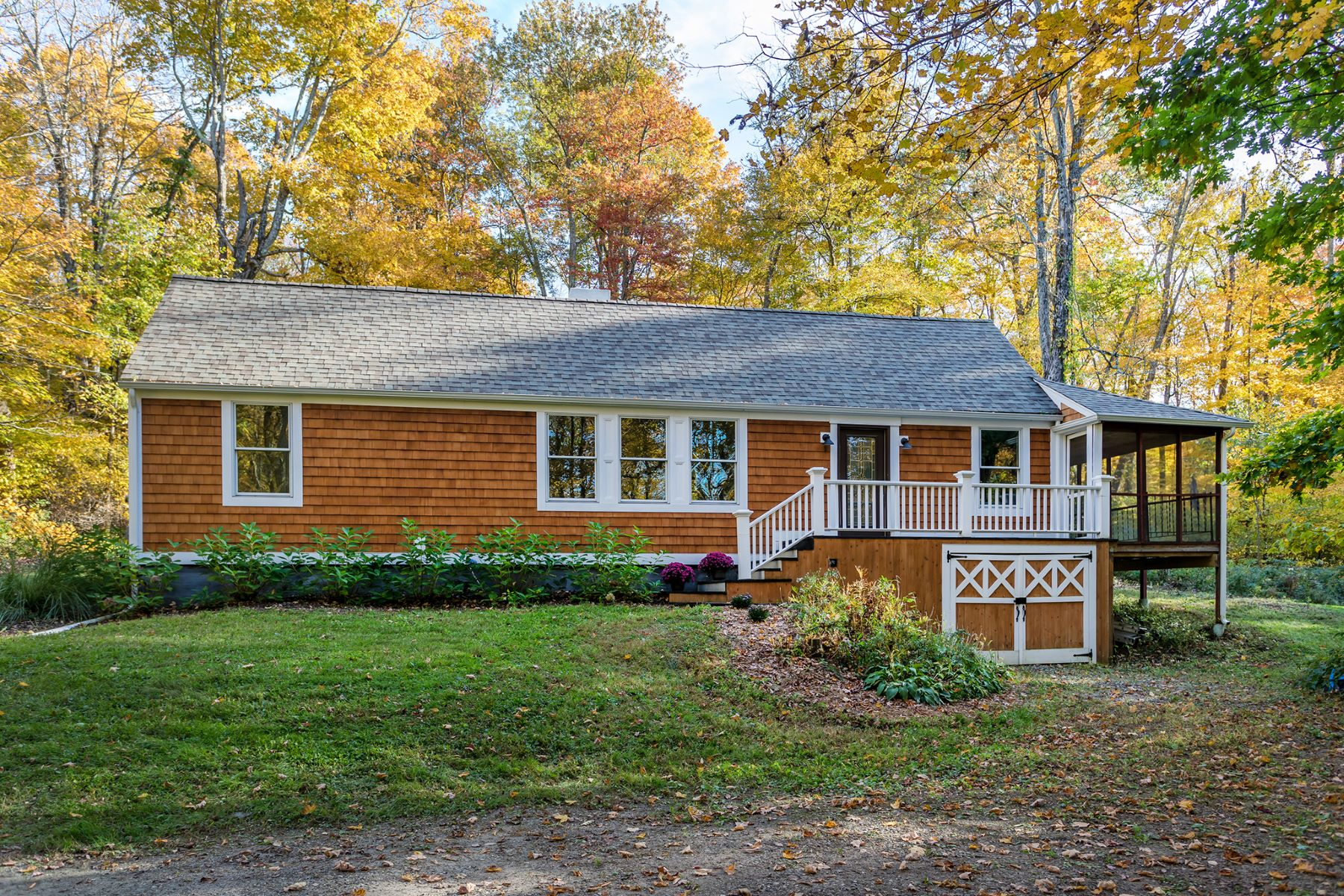 Single Family Homes for Sale at Modern and Open 71 Dark Entry Road Washington, Connecticut 06793 United States