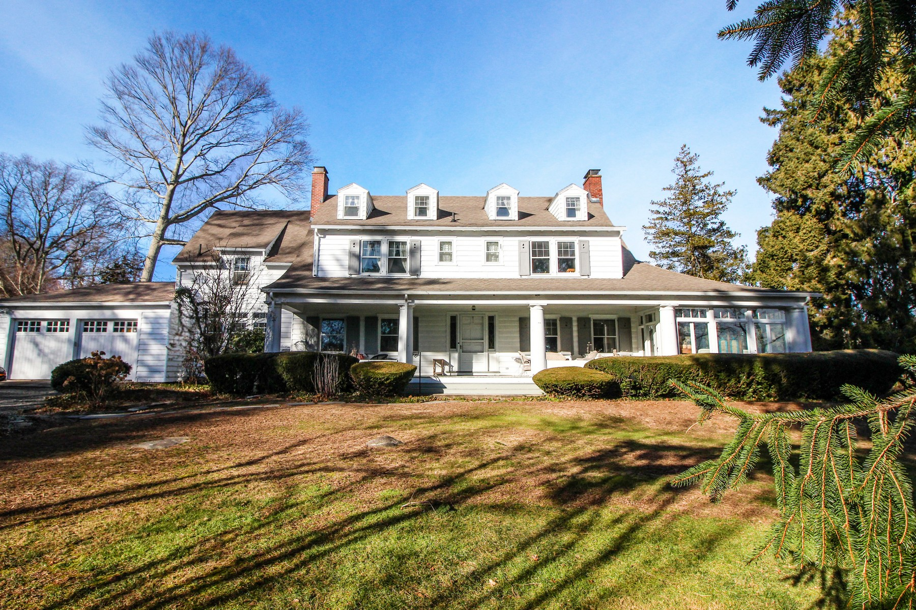 single family homes for Sale at Stately Colonial 26 Hillside Rd, New London, Connecticut 06320 United States