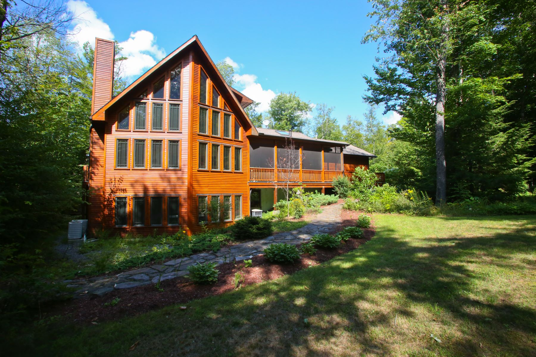 Single Family Homes for Sale at Steeped in Modern Country Warmth 108 Valley View Rd Becket, Massachusetts 01223 United States