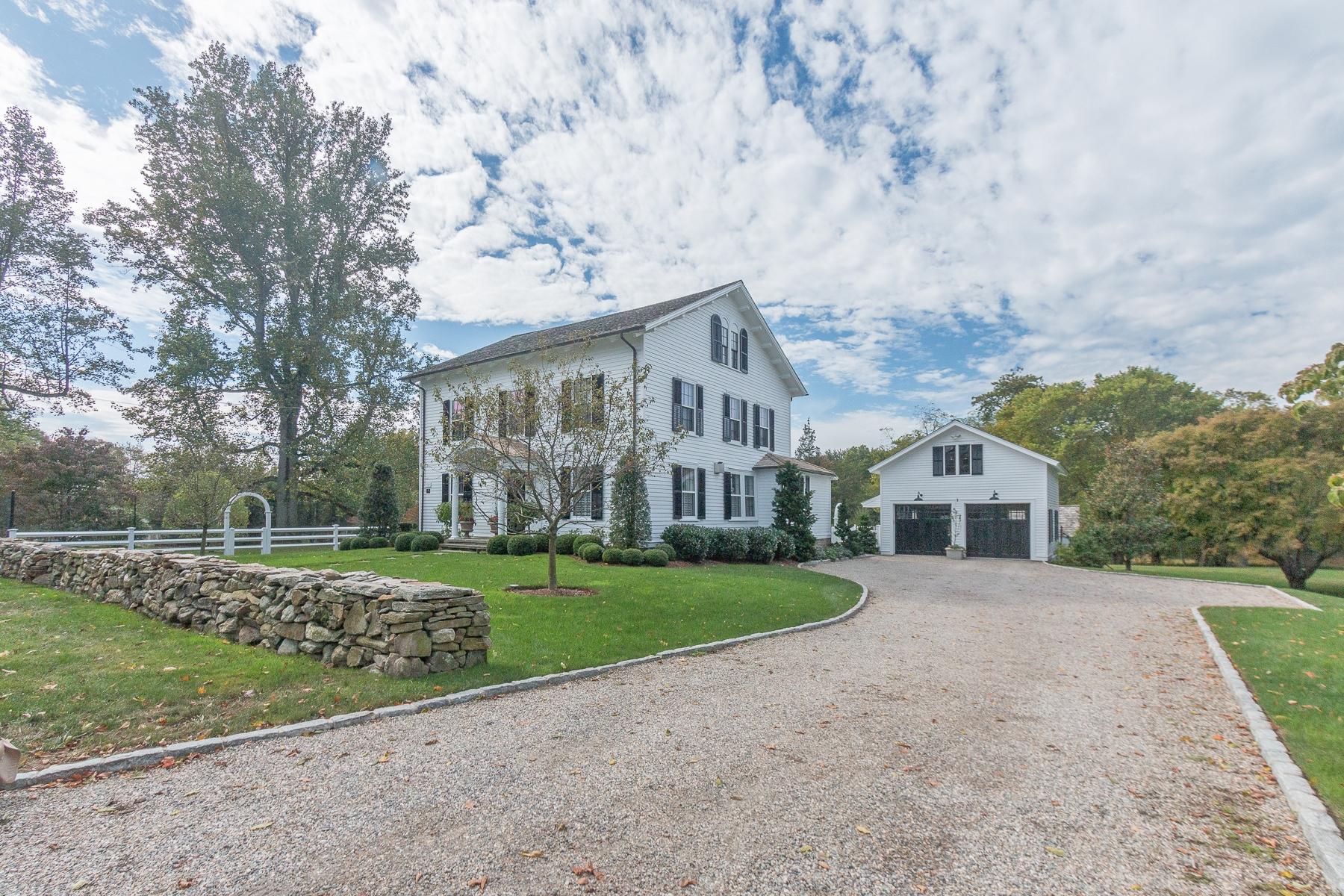 Maison unifamiliale pour l Vente à Bucolic Setting 825 Mill Hill Road, Southport, Fairfield, Connecticut, 06890 États-Unis