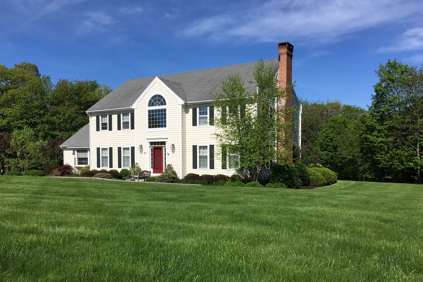 Single Family Home for Sale at Traditional but Modern 42 Old Farm Road Litchfield, Connecticut 06759 United States