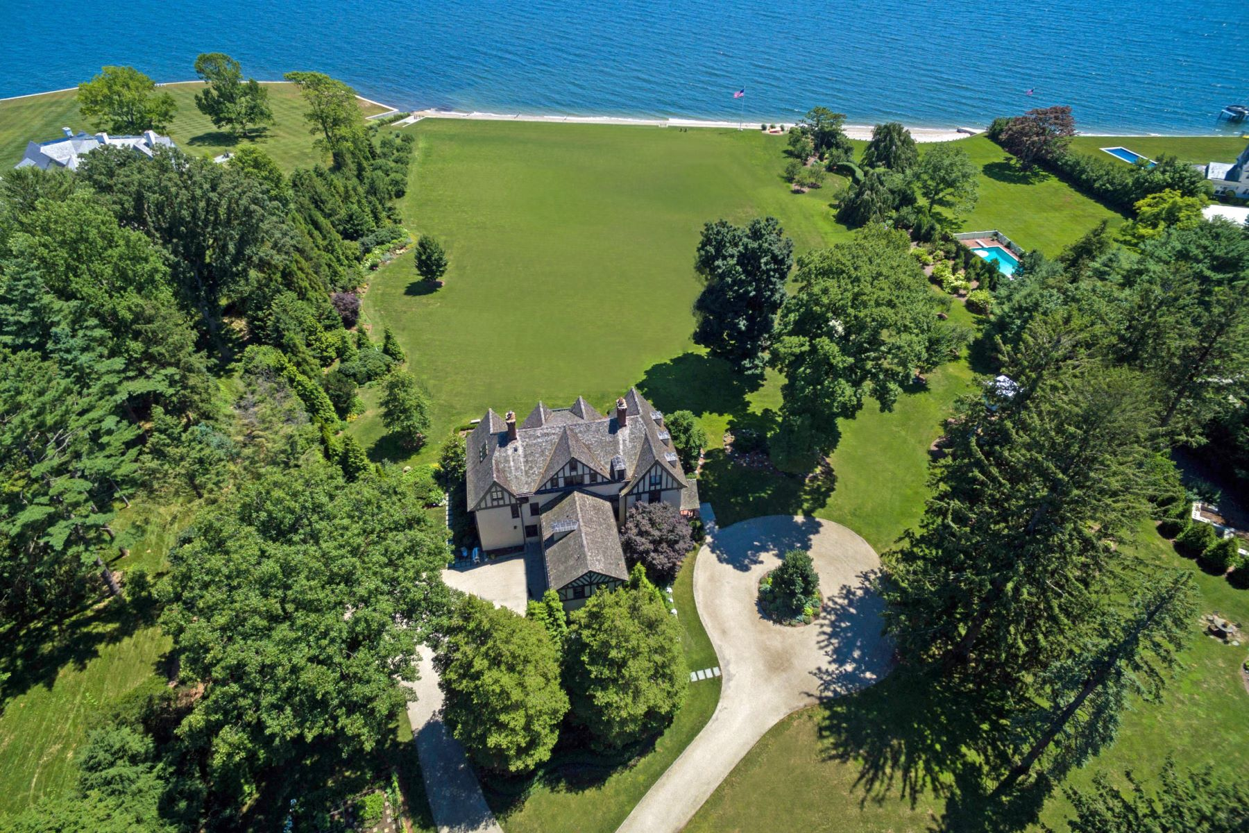 Single Family Homes for Sale at 2 Lot Waterfront Estate 114 & 116 Beachside Avenue Westport, Connecticut 06880 United States