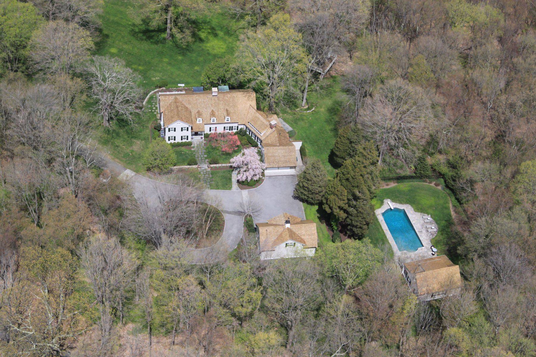 Moradia para Arrendamento às Connecticut Country Compound 75 Turner Hill Road New Canaan, Connecticut, 06840 Estados Unidos