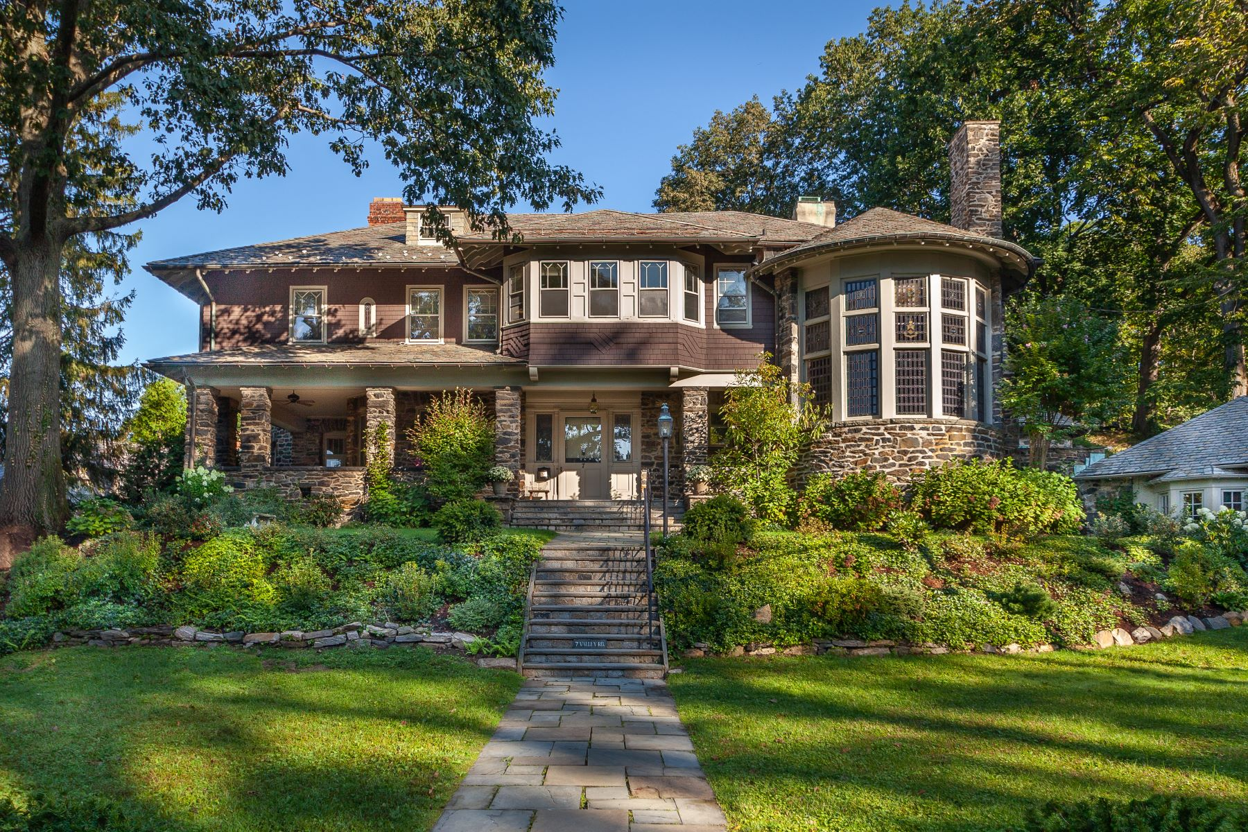 Single Family Homes for Sale at A Turn-Of-The-Century Masterpiece 7 Valley Road Bronxville, New York 10708 United States