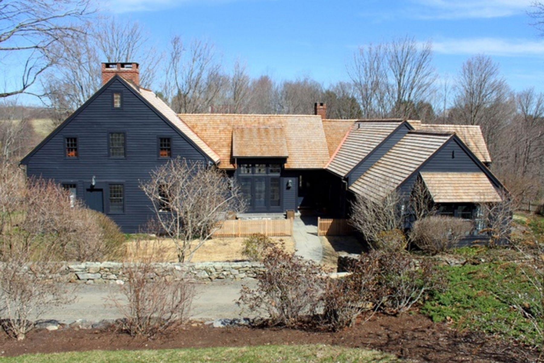 独户住宅 为 出租 在 Stylish Roxbury Antique 264 Painter Hill Road, 罗克斯伯里, 康涅狄格州, 06783 美国