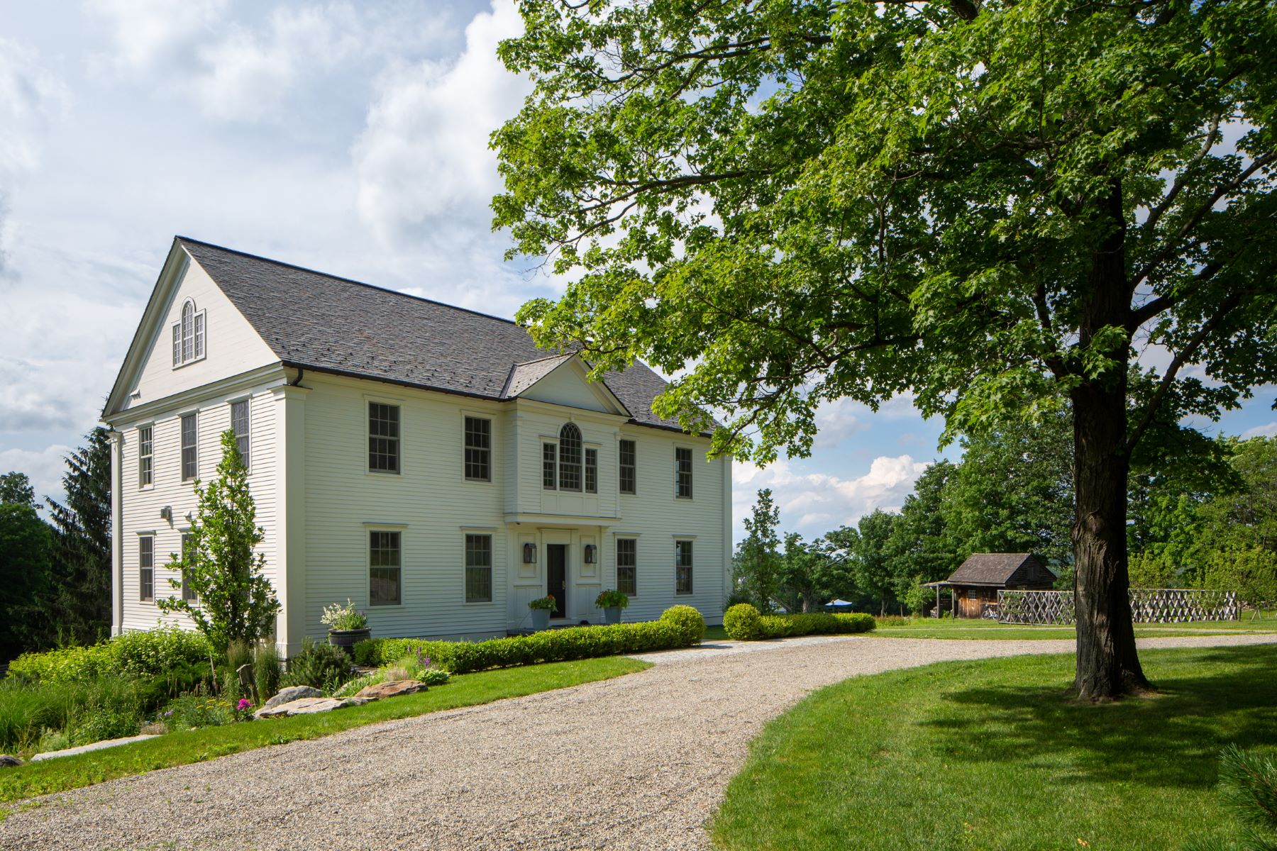 Single Family Homes 为 销售 在 Prospect Hill Farm 287 Prospect Mountain Road, 利奇菲尔德, 康涅狄格州 06759 美国