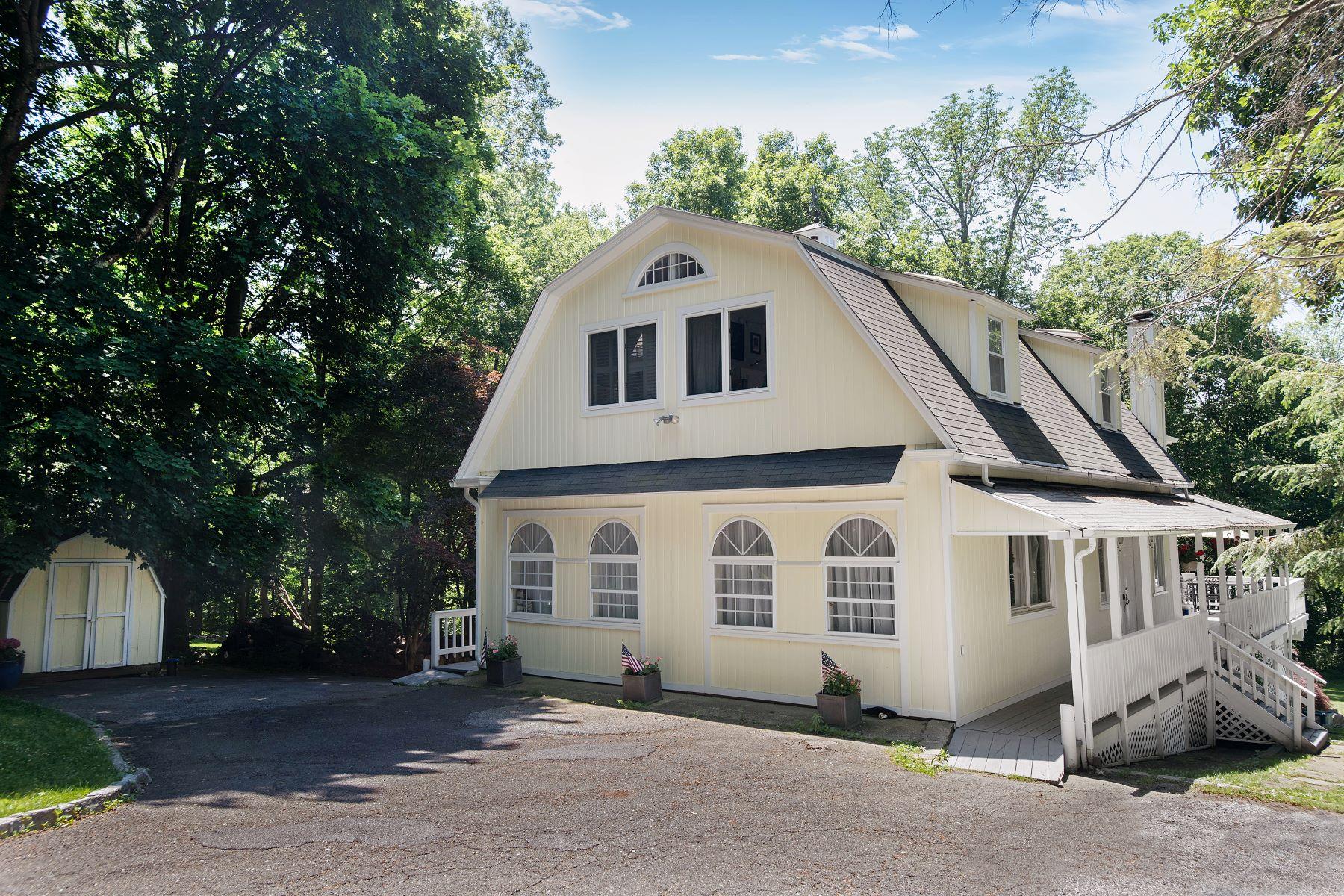 独户住宅 为 出租 在 126 Brushy Ridge Road 新迦南, 康涅狄格州, 06840 美国