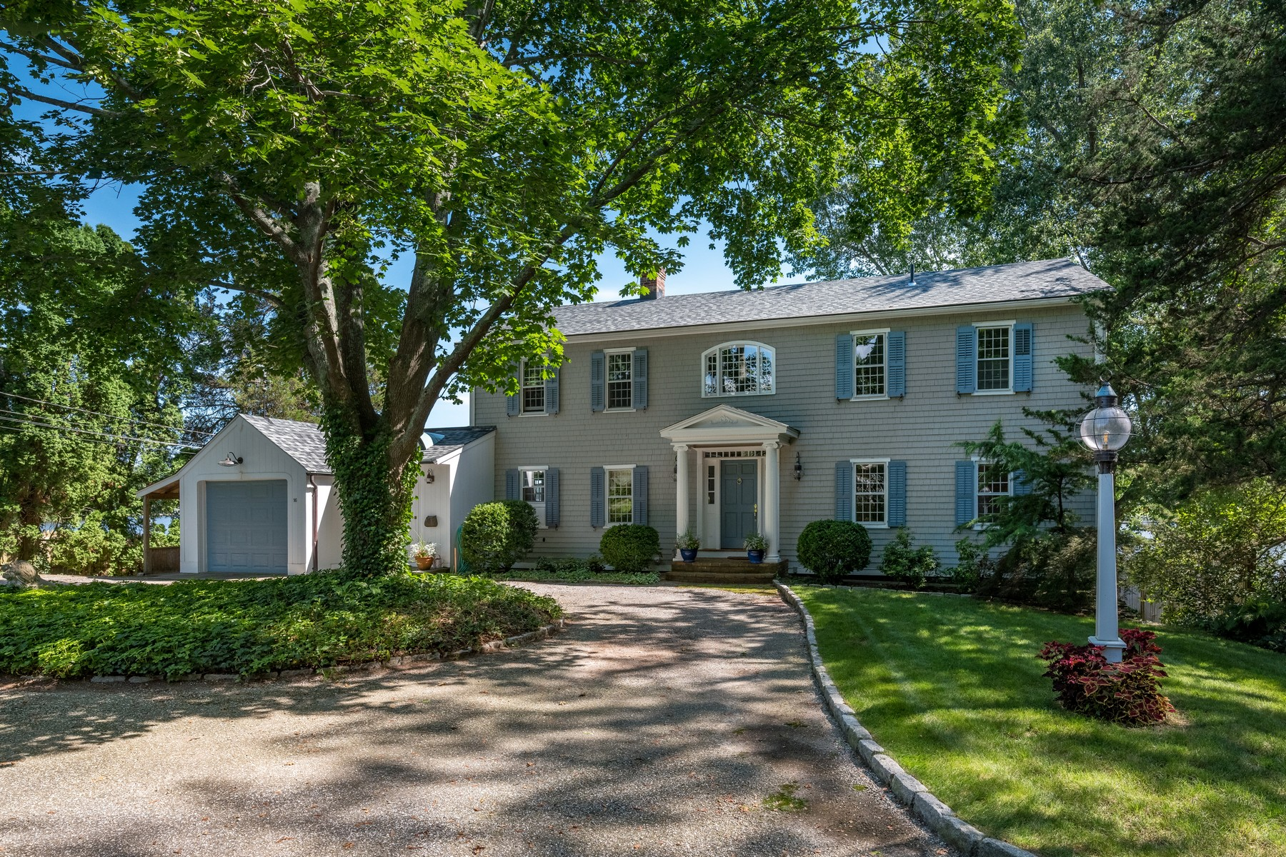 single family homes for Sale at Middle Cove Waterfront Home 16 Bank Lane, Essex, Connecticut 06426 United States
