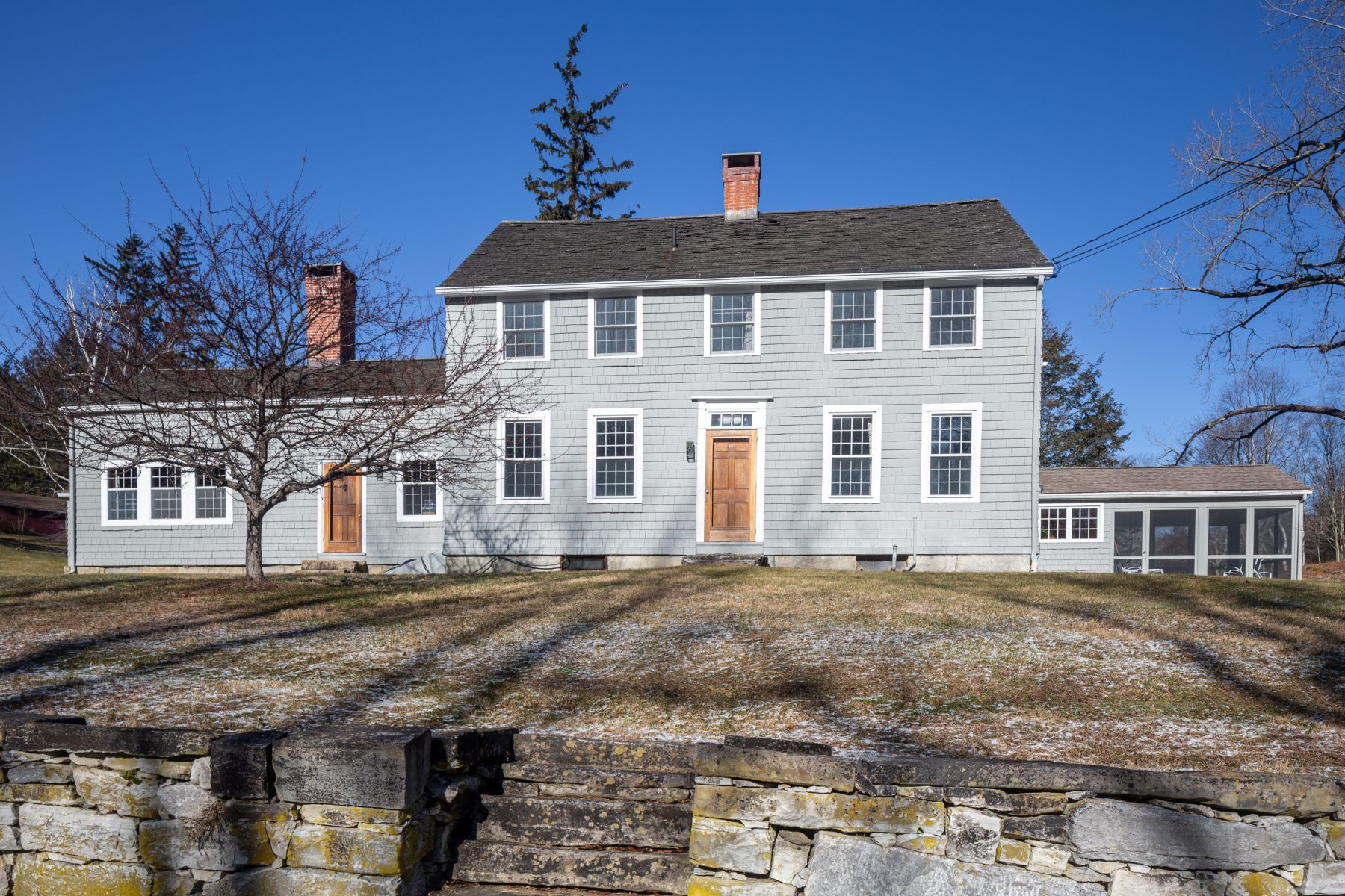 Single Family Homes per Vendita alle ore Impeccable Colonial 130 Cobble Road Salisbury, Connecticut 06068 Stati Uniti