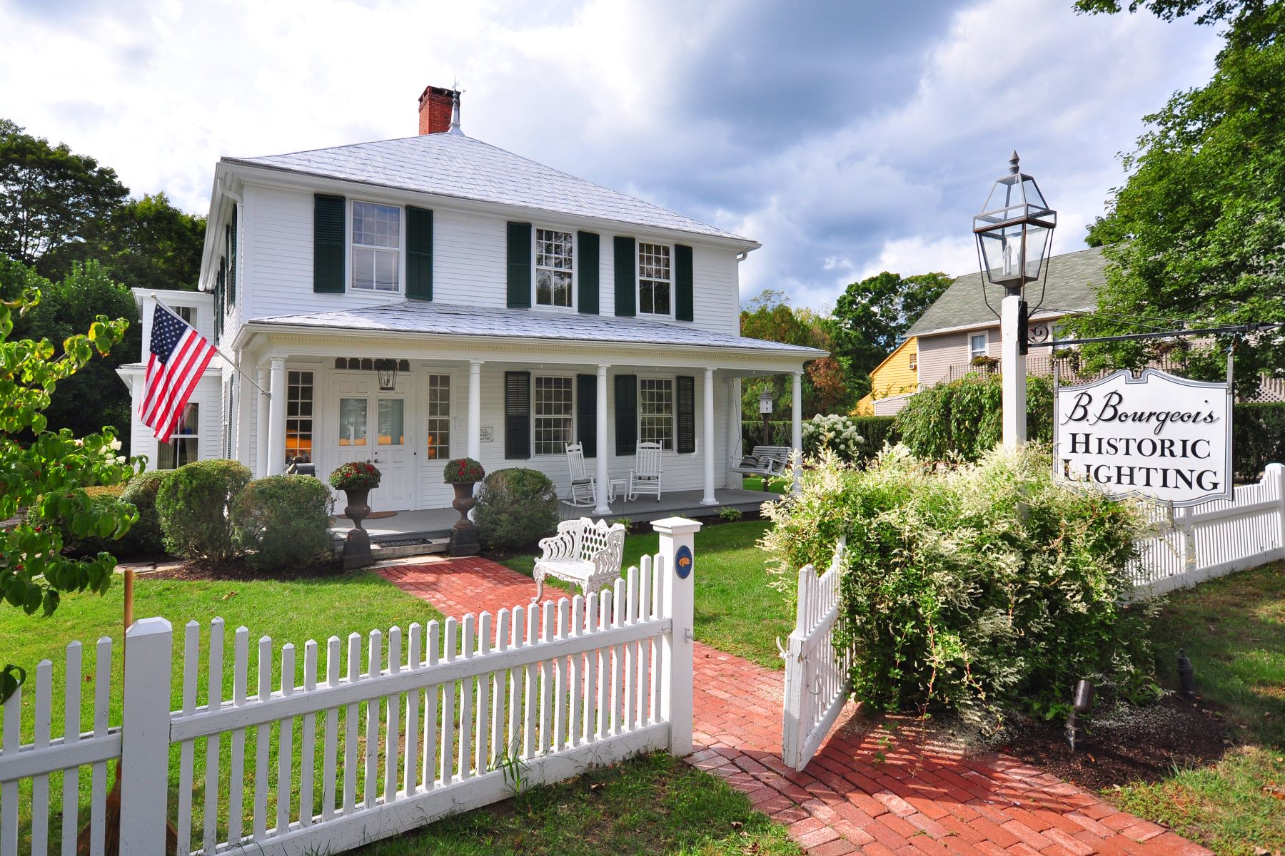 Single Family Home for Sale at The Noah Benedict House 270 Main St South Woodbury, Connecticut, 06798 United States