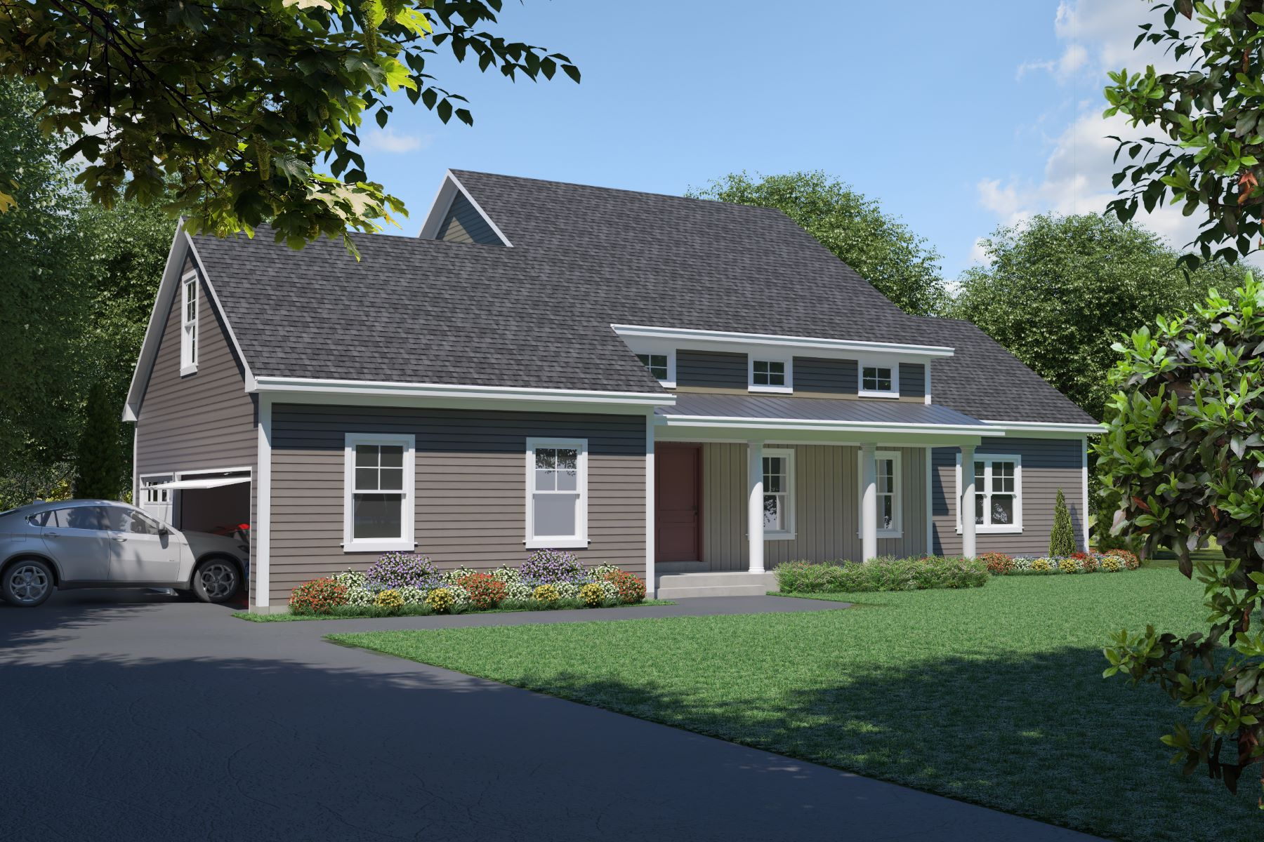 single family homes vì Bán tại To Be Built Classic Customizable Colonial 89 Quail Run Road Lot 18, Woodbury, Connecticut 06798 Hoa Kỳ
