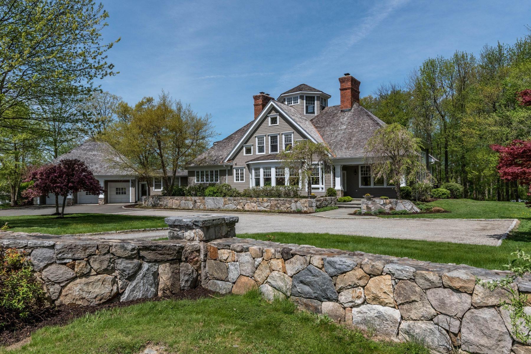 独户住宅 为 销售 在 CUSTOM COLONIAL 1 Meadows Edge 雷丁, 康涅狄格州 06896 美国