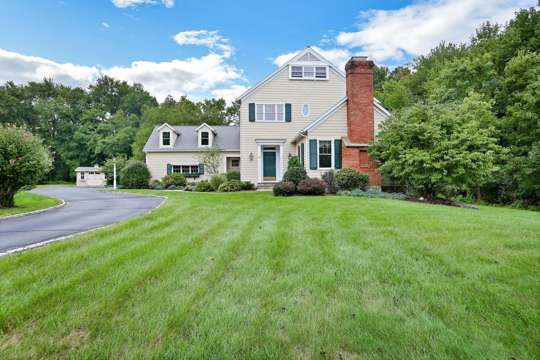 Casa Unifamiliar por un Venta en 48 Duck Pond Place 48 Duck Pond Place Wilton, Connecticut 06897 Estados Unidos