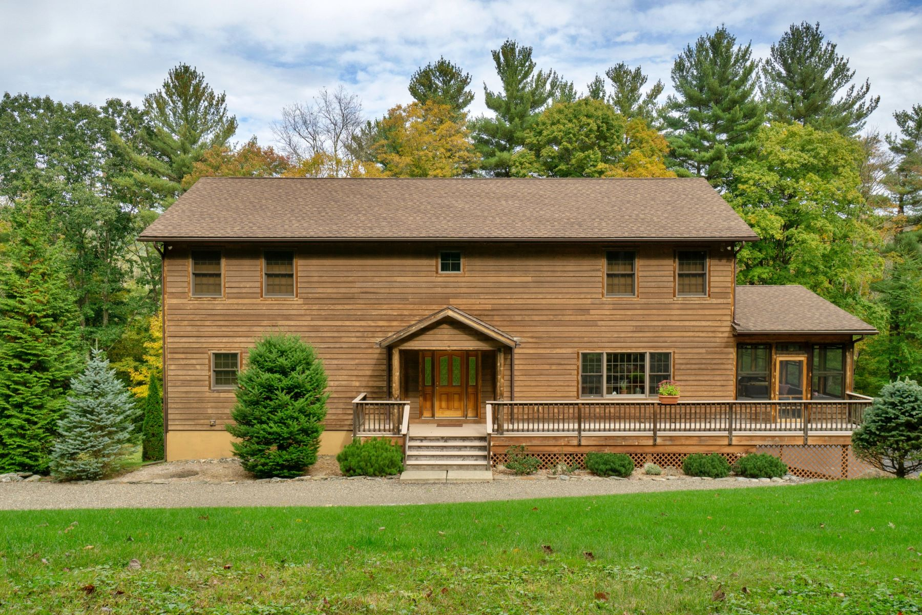 Single Family Homes for Sale at Country Get-Away on the Green River 151 Stagecoach Rd Hillsdale, New York 12529 United States