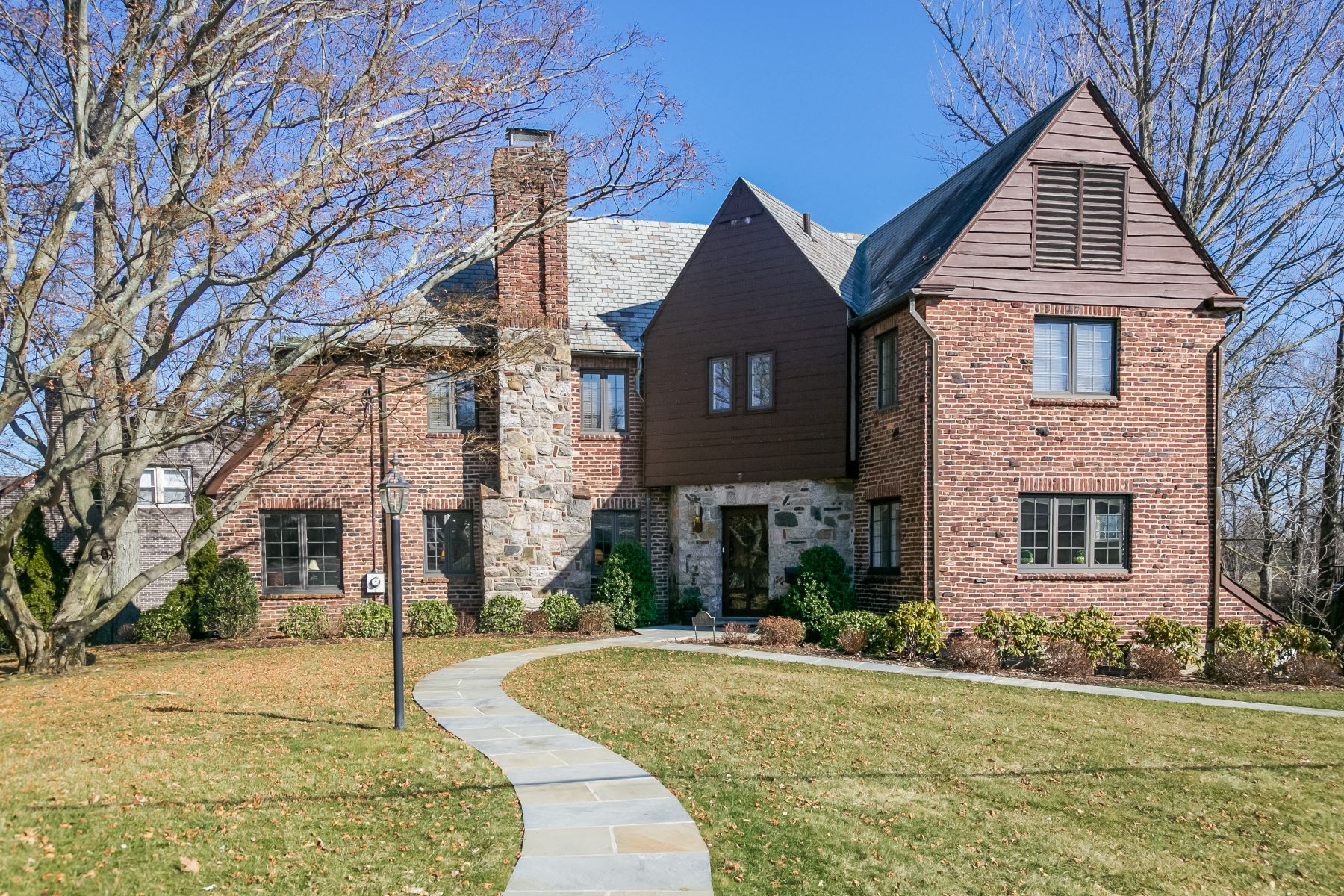 Single Family Home for Sale at Stunning Brick & Stone Tudor in White Plains 2 Fairway Drive, White Plains, New York, 10605 United States