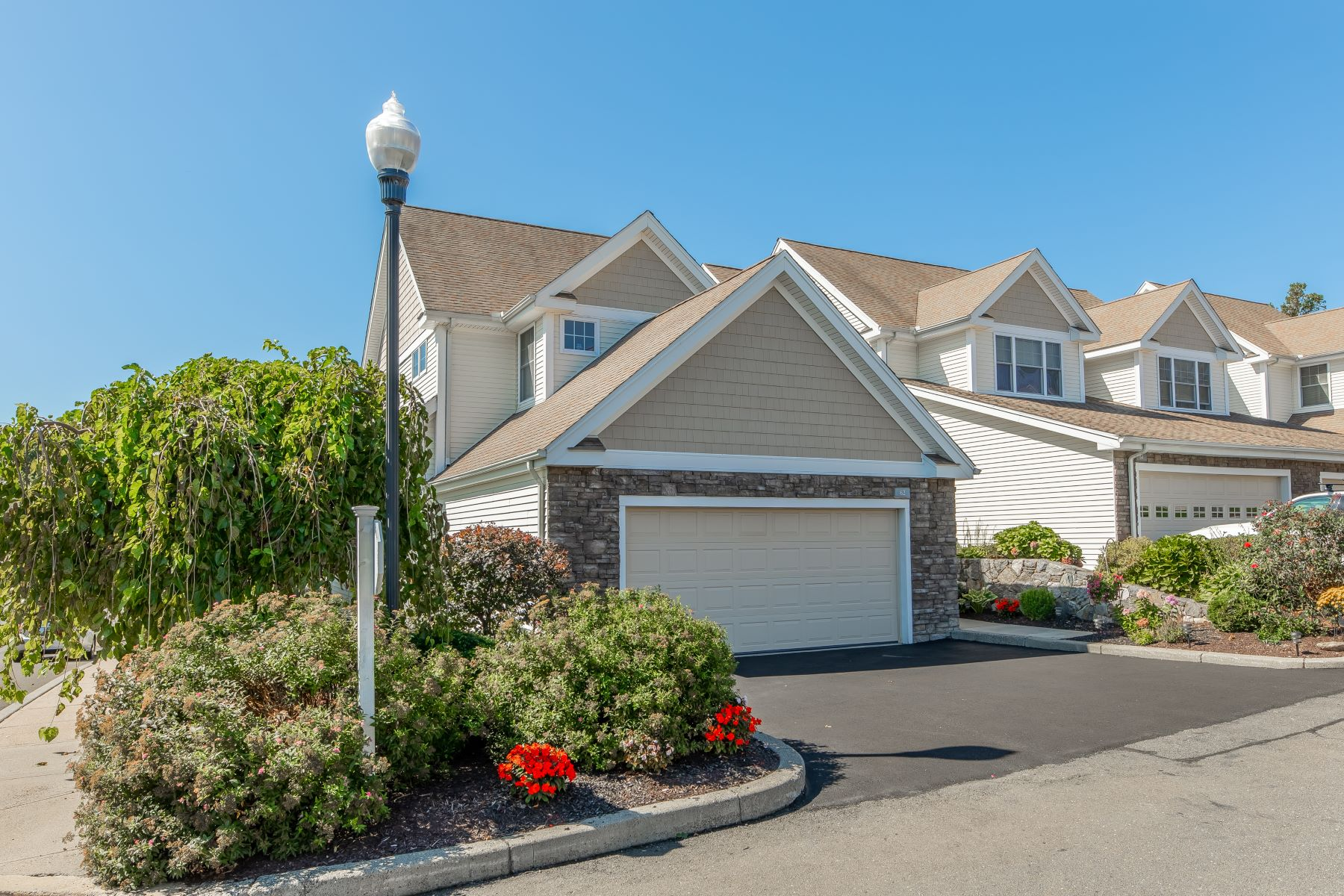 "Condominiums for Sale at Immaculate ""Crescent Village"" End Unit 62 Kyles Way 62 Shelton, Connecticut 06484 United States"