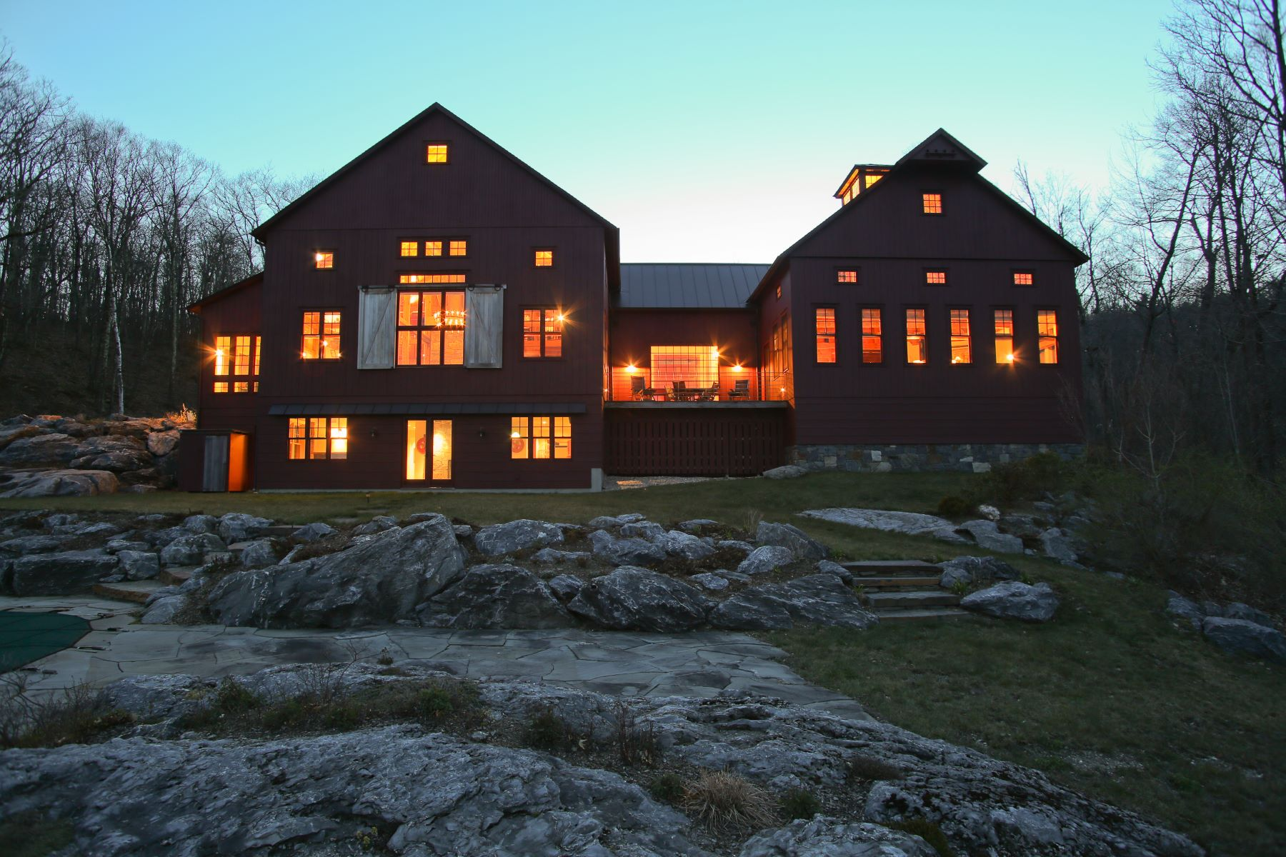 Single Family Home for Sale at Huge Views from Two Masterfully Reconfigured Post and Beam Structures 65 Shun Toll Rd Egremont, Massachusetts, 01230 United States