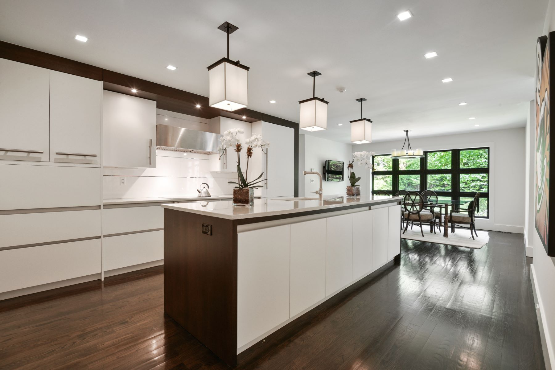 Single Family Homes for Sale at Completely Renovated Striking Home 196 Rock Creek Lane Scarsdale, New York 10583 United States