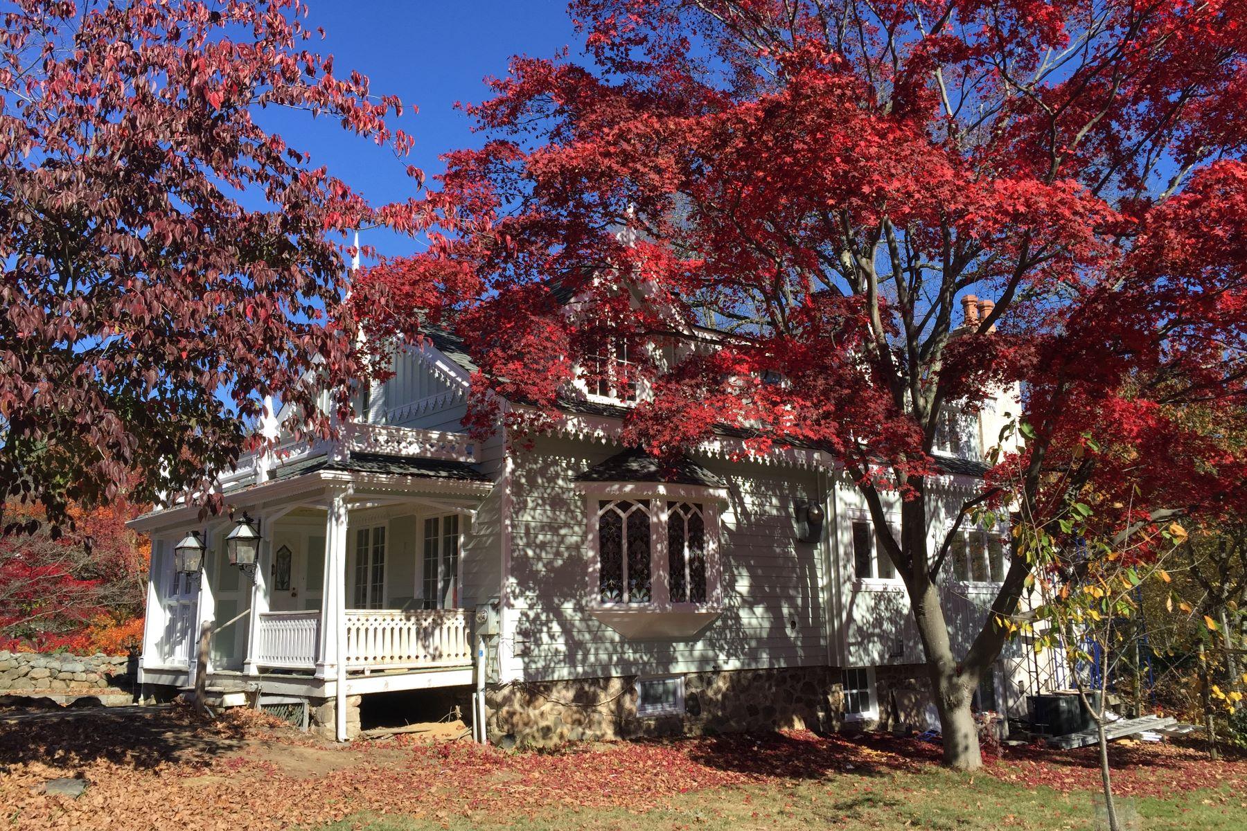 Частный односемейный дом для того Аренда на 281 Ponus Ridge New Canaan, Коннектикут, 06840 Соединенные Штаты