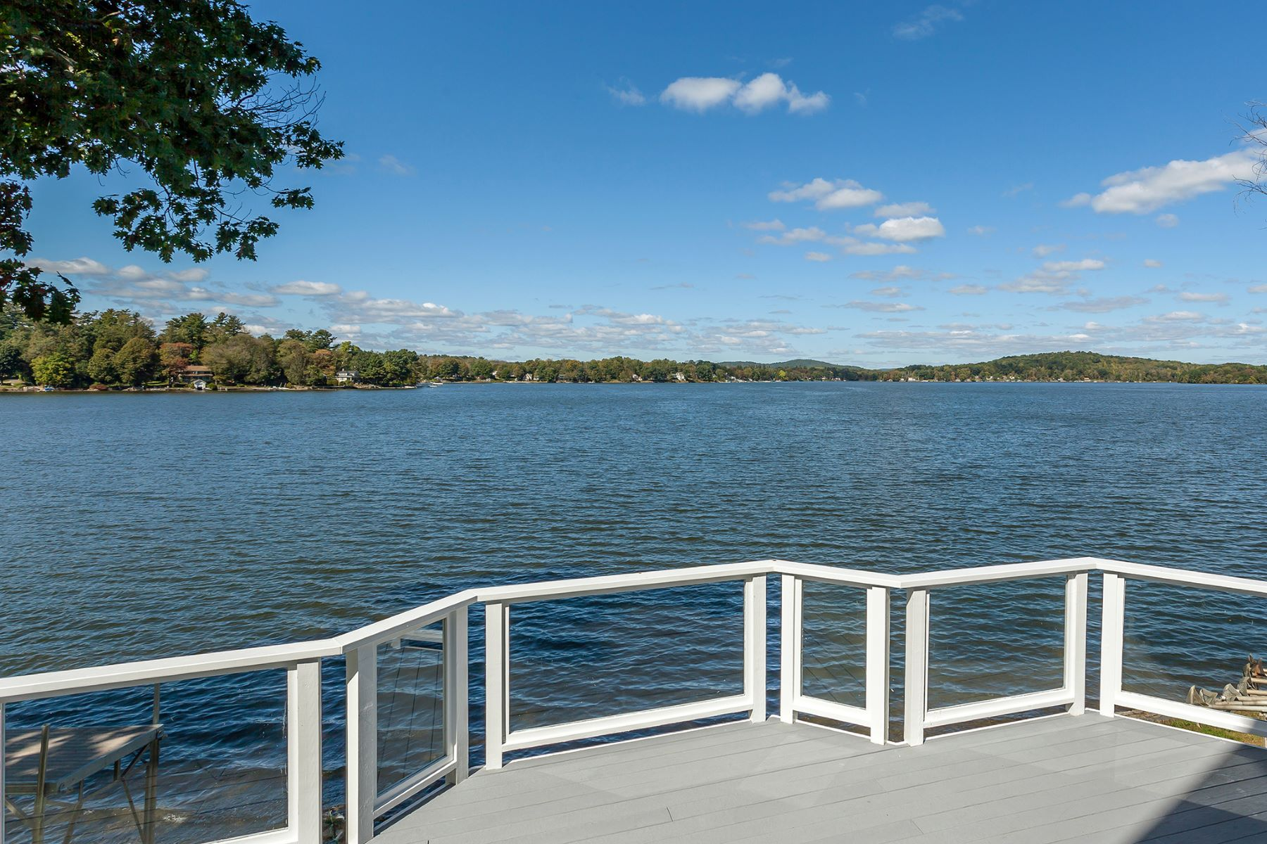 Single Family Home for Sale at Fabulous Bantam Lake Waterfront Home 219 East Shore Rd Morris, Connecticut 06763 United States