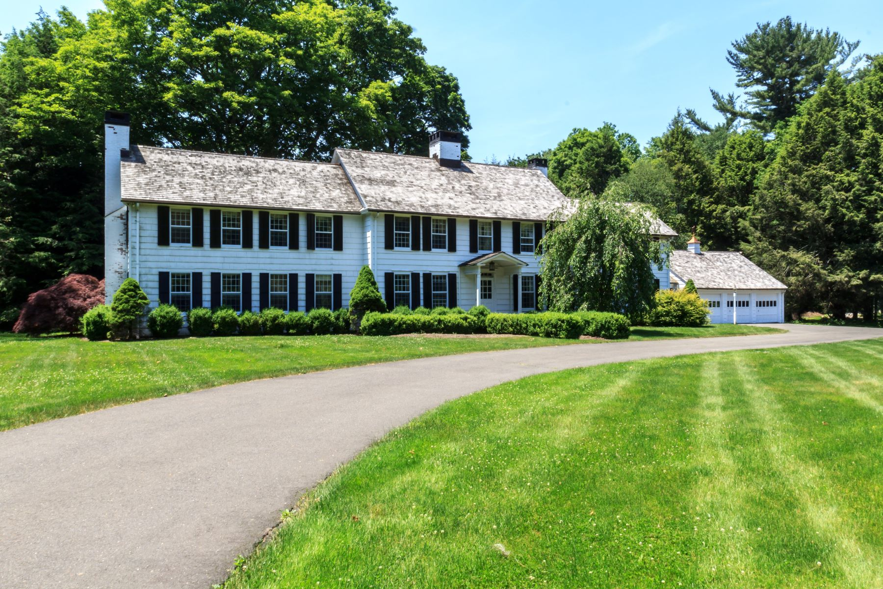 Eensgezinswoning voor Verkoop op Exceptional Classic Colonial on 3.5 Acres in Historic Aspetuck Area 7 Old Redding Road, Easton, Connecticut 06612 Verenigde Staten