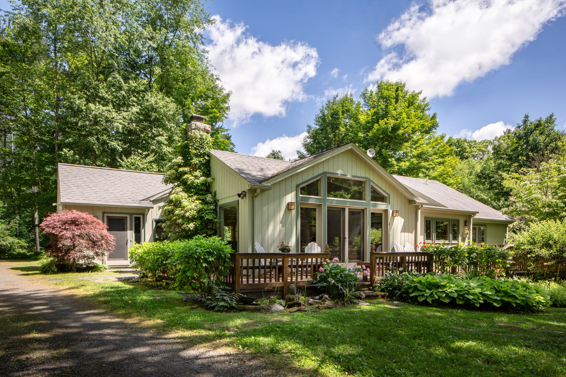 Single Family Home for Active at Enchanted Single Level Living on the Williams River 20 Wright Ln Great Barrington, Massachusetts 01230 United States