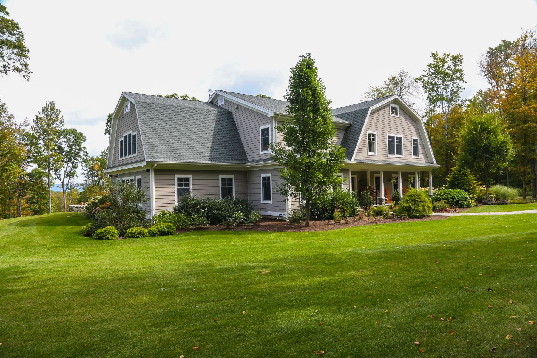 Single Family Homes for Active at Hamptons Inspired Contemporary On 16 Plus Acres 34 Oxbow Rd Egremont, Massachusetts 01230 United States