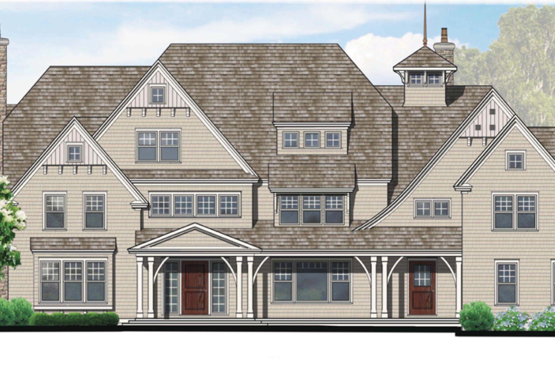 Maison unifamiliale pour l Vente à Extraordinary New Construction 729 Smith Ridge Road New Canaan, Connecticut 06840 États-Unis