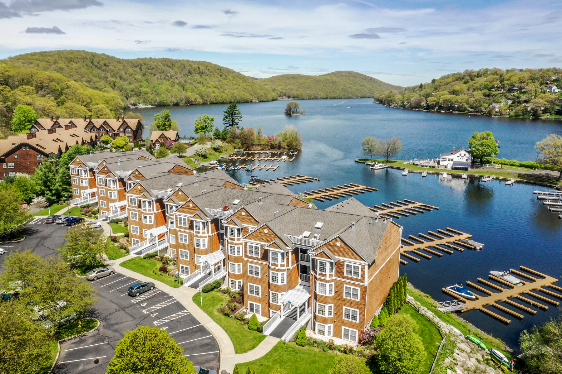 Single Family Homes for Sale at Breathtaking Northern Views Of Candlewood Lake 10 Hayestown Road 39-40 Danbury, Connecticut 06811 United States